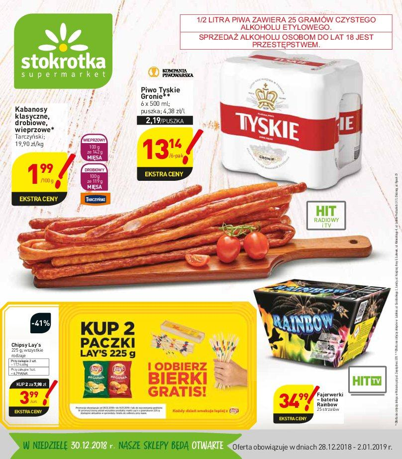 Gazetka promocyjna Stokrotka do 02/01/2019 str.0