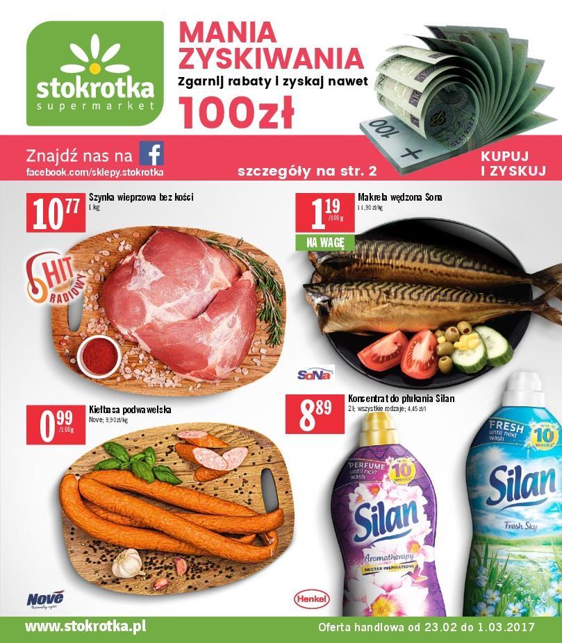 Gazetka promocyjna Stokrotka do 01/03/2017 str.0