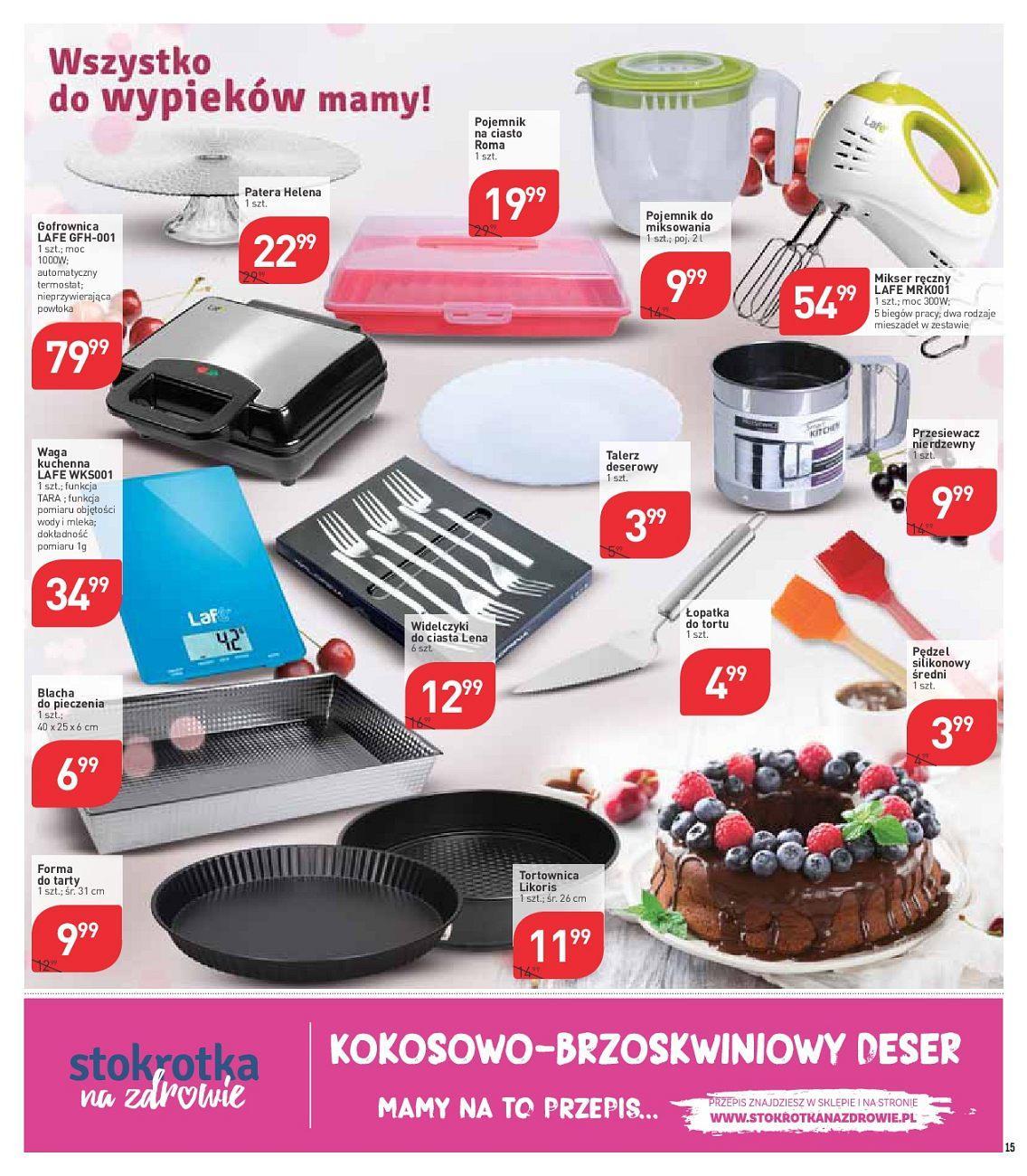 Gazetka promocyjna Stokrotka do 18/07/2018 str.14