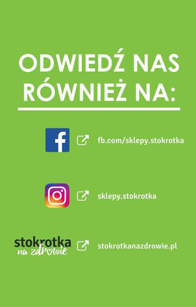 Gazetka promocyjna Stokrotka do 16/01/2019 str.20