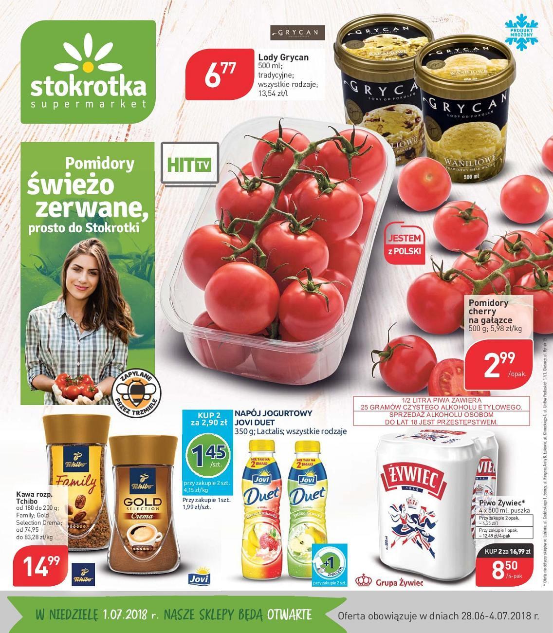 Gazetka promocyjna Stokrotka do 04/07/2018 str.0