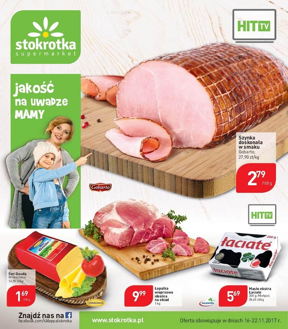 Gazetka promocyjna Stokrotka do 22/11/2017 str.0