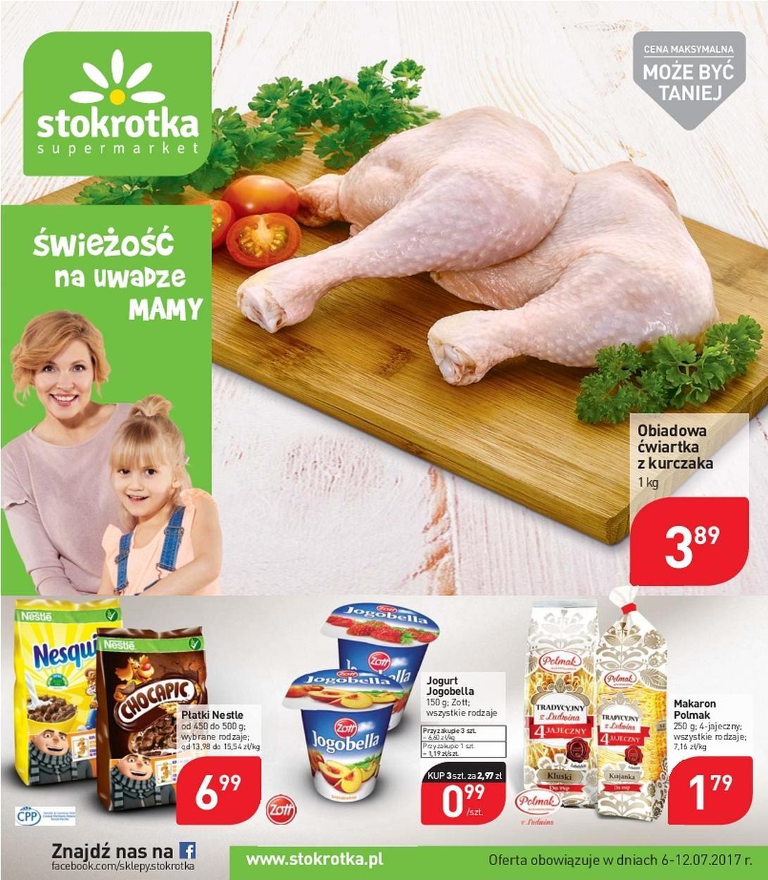 Gazetka promocyjna Stokrotka do 12/07/2017 str.0