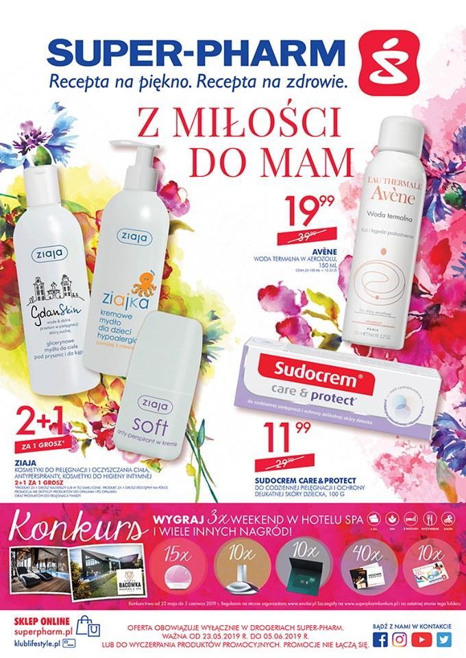 Gazetka promocyjna Superpharm do 05/06/2019 str.1