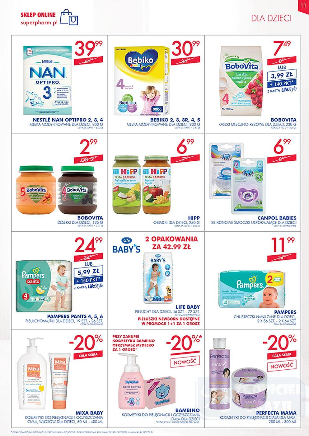 Gazetka promocyjna Superpharm do 10/10/2018 str.11