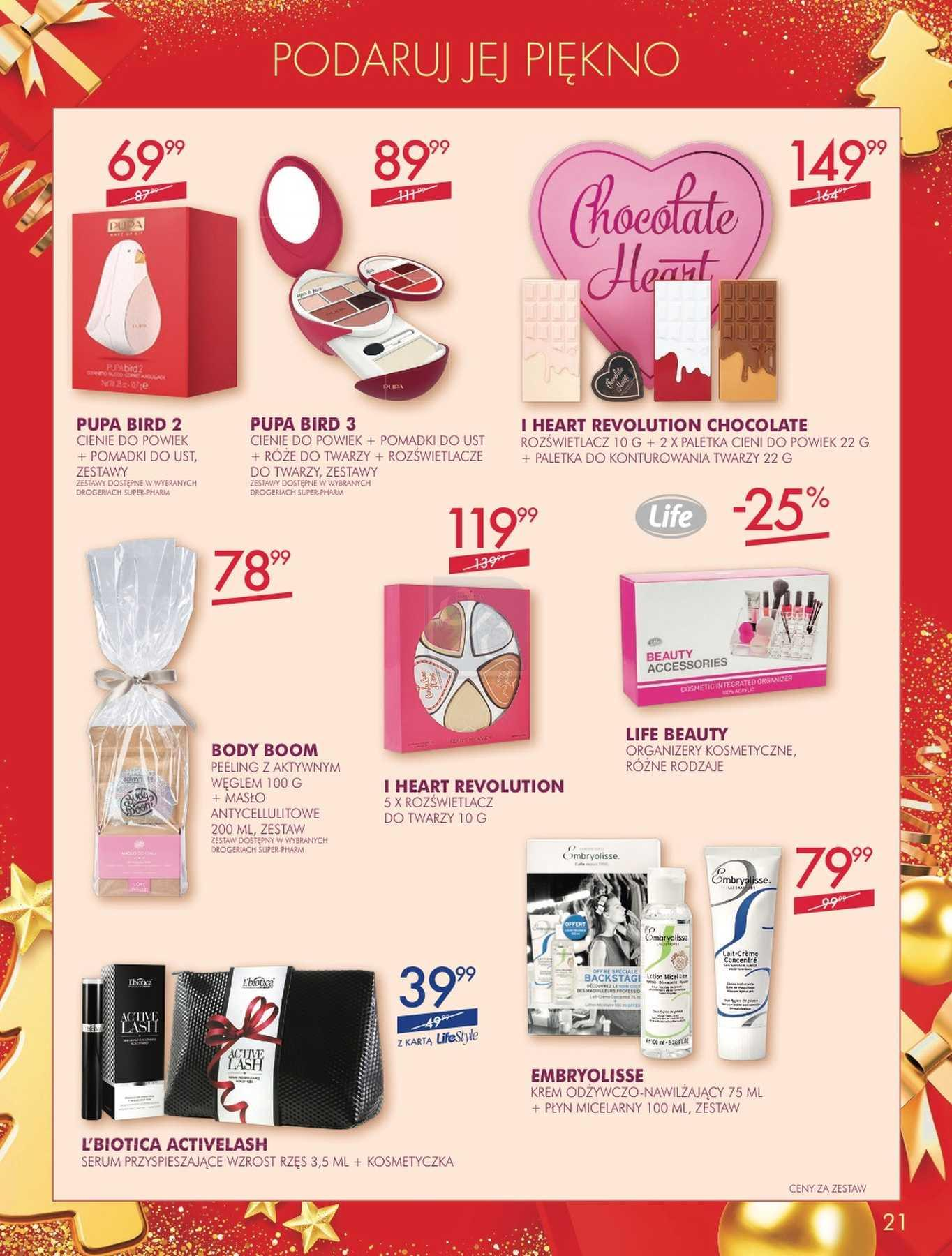 Gazetka promocyjna Superpharm do 24/12/2018 str.20