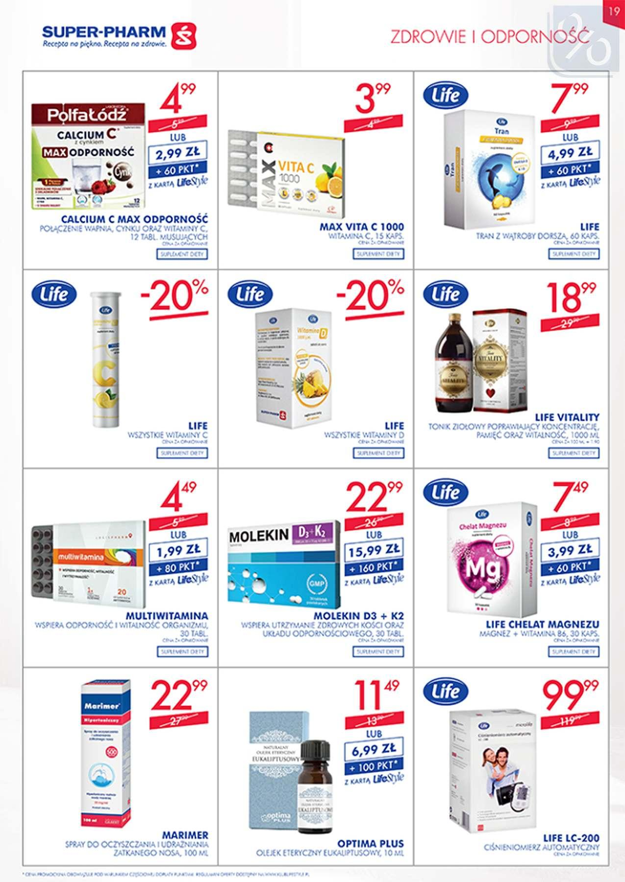 Gazetka promocyjna Superpharm do 23/01/2019 str.19