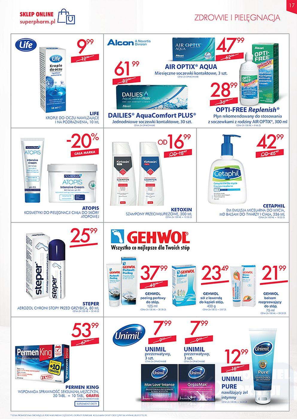 Gazetka promocyjna Superpharm do 10/10/2018 str.16