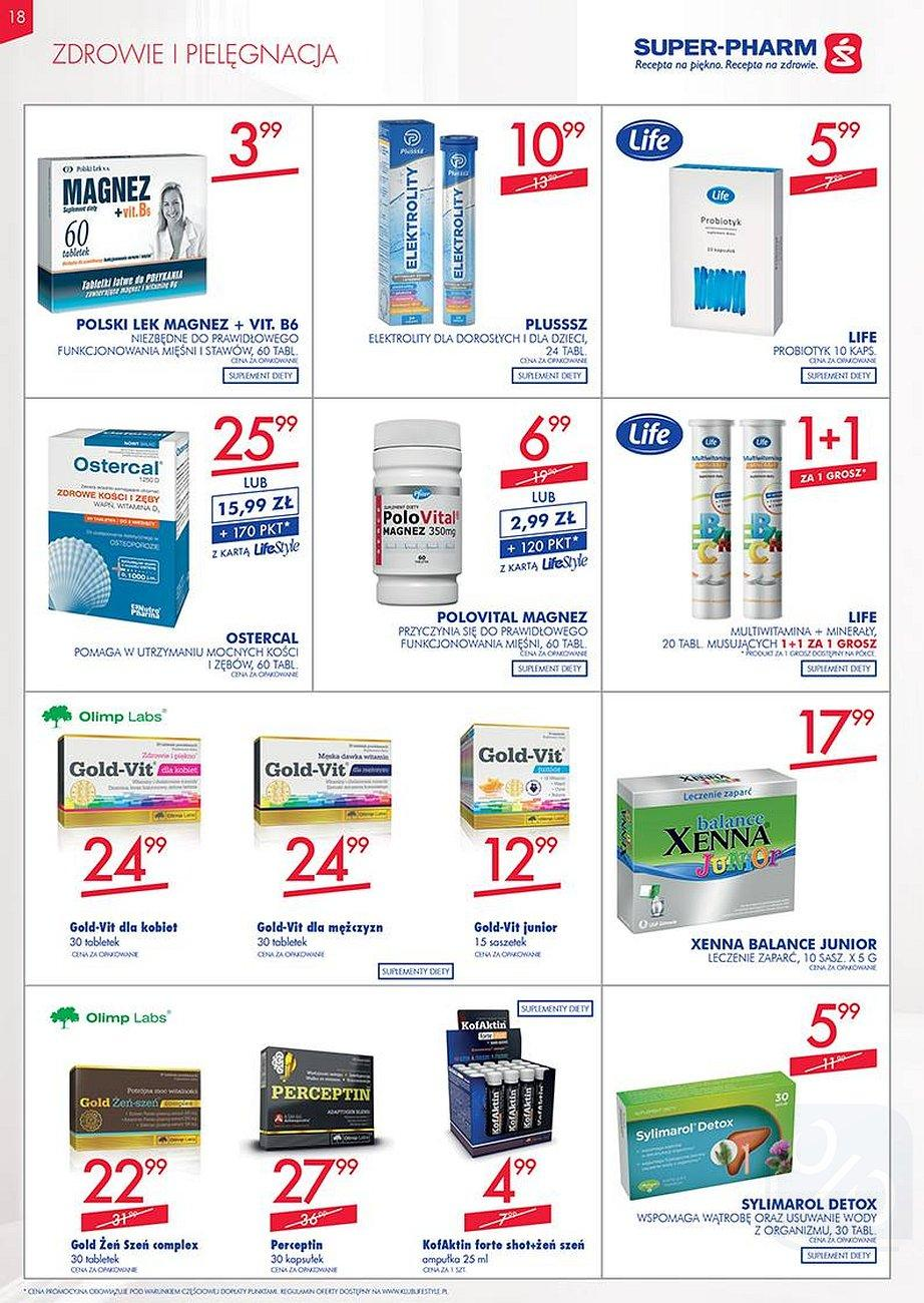 Gazetka promocyjna Superpharm do 22/08/2018 str.17