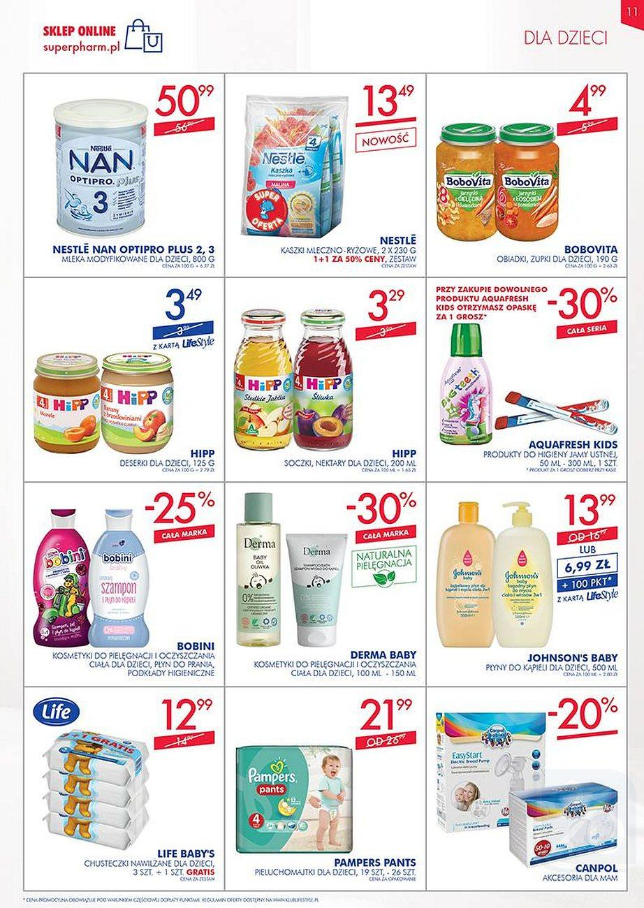 Gazetka promocyjna Superpharm do 22/08/2018 str.11