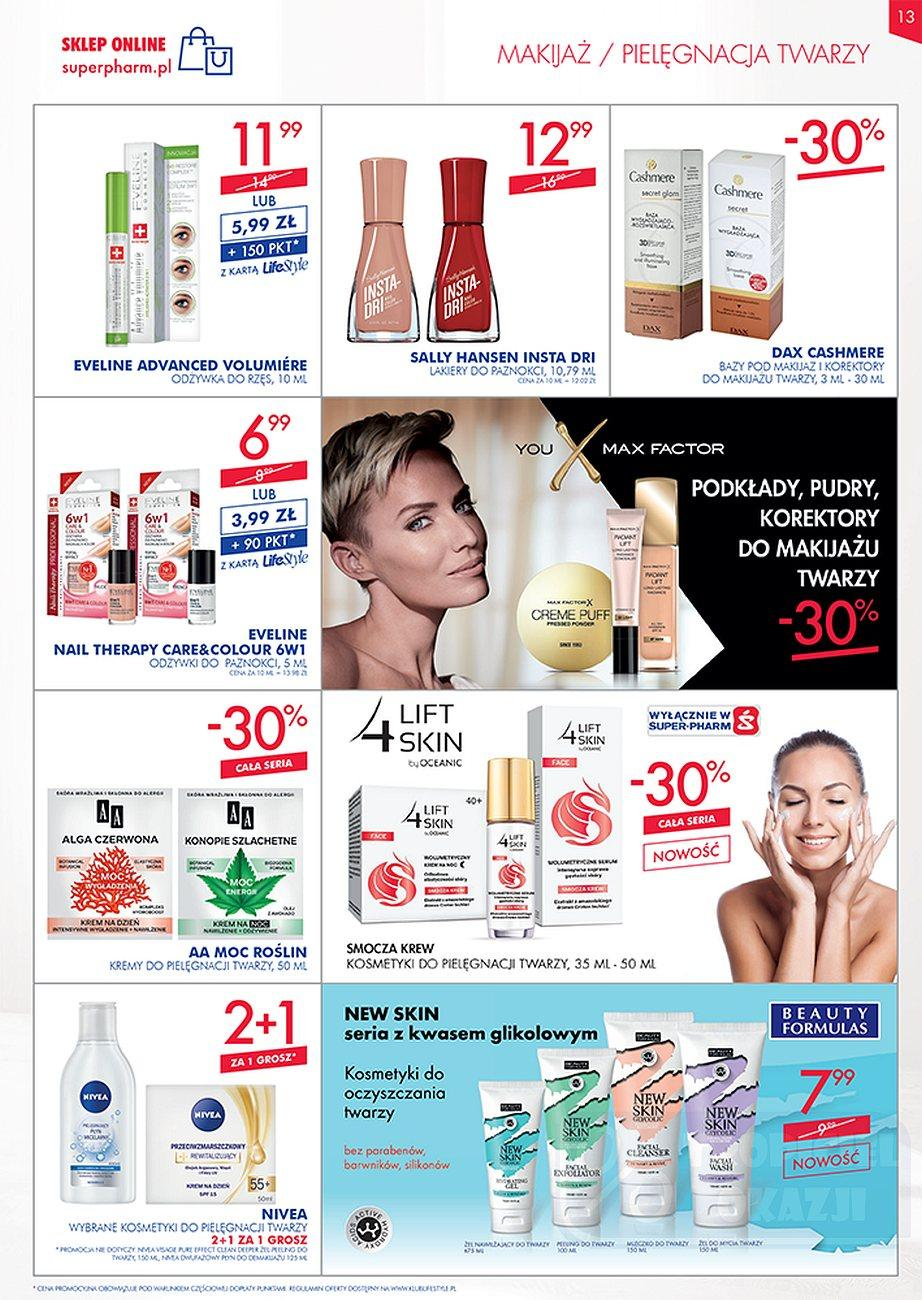 Gazetka promocyjna Superpharm do 26/09/2018 str.13