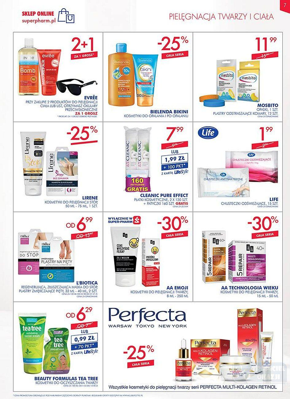 Gazetka promocyjna Superpharm do 25/07/2018 str.7