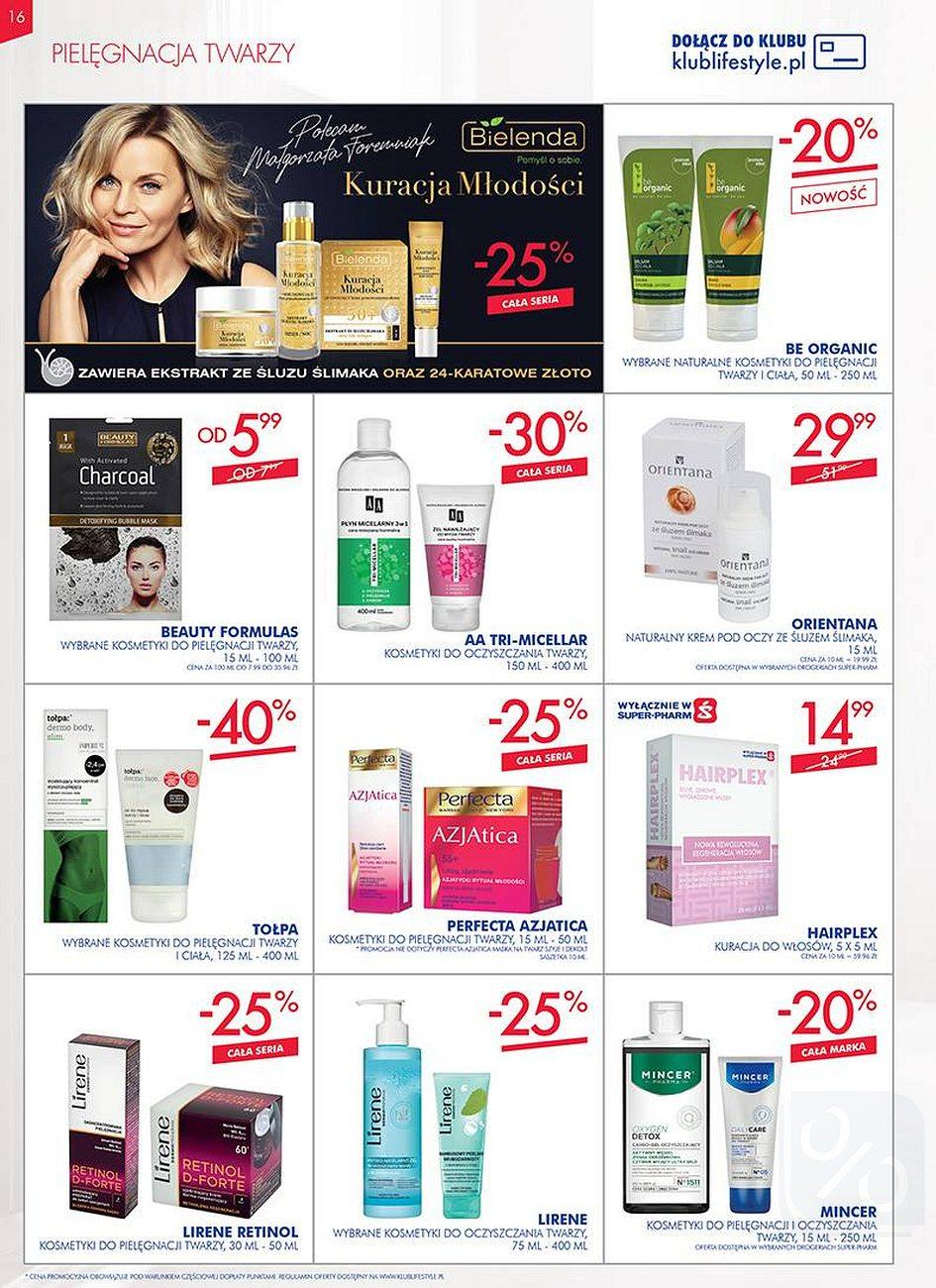 Gazetka promocyjna Superpharm do 08/08/2018 str.16