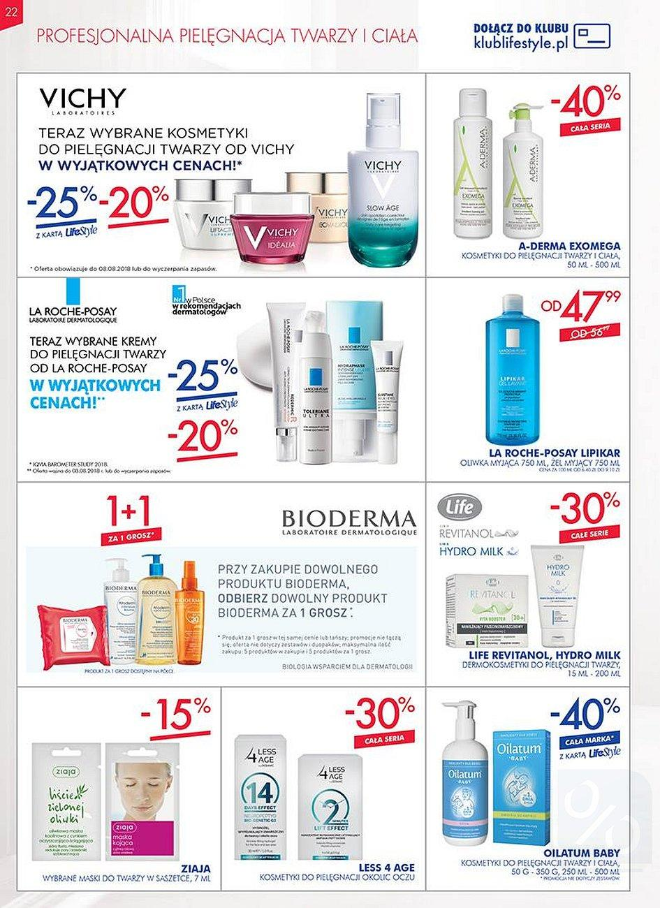 Gazetka promocyjna Superpharm do 08/08/2018 str.22
