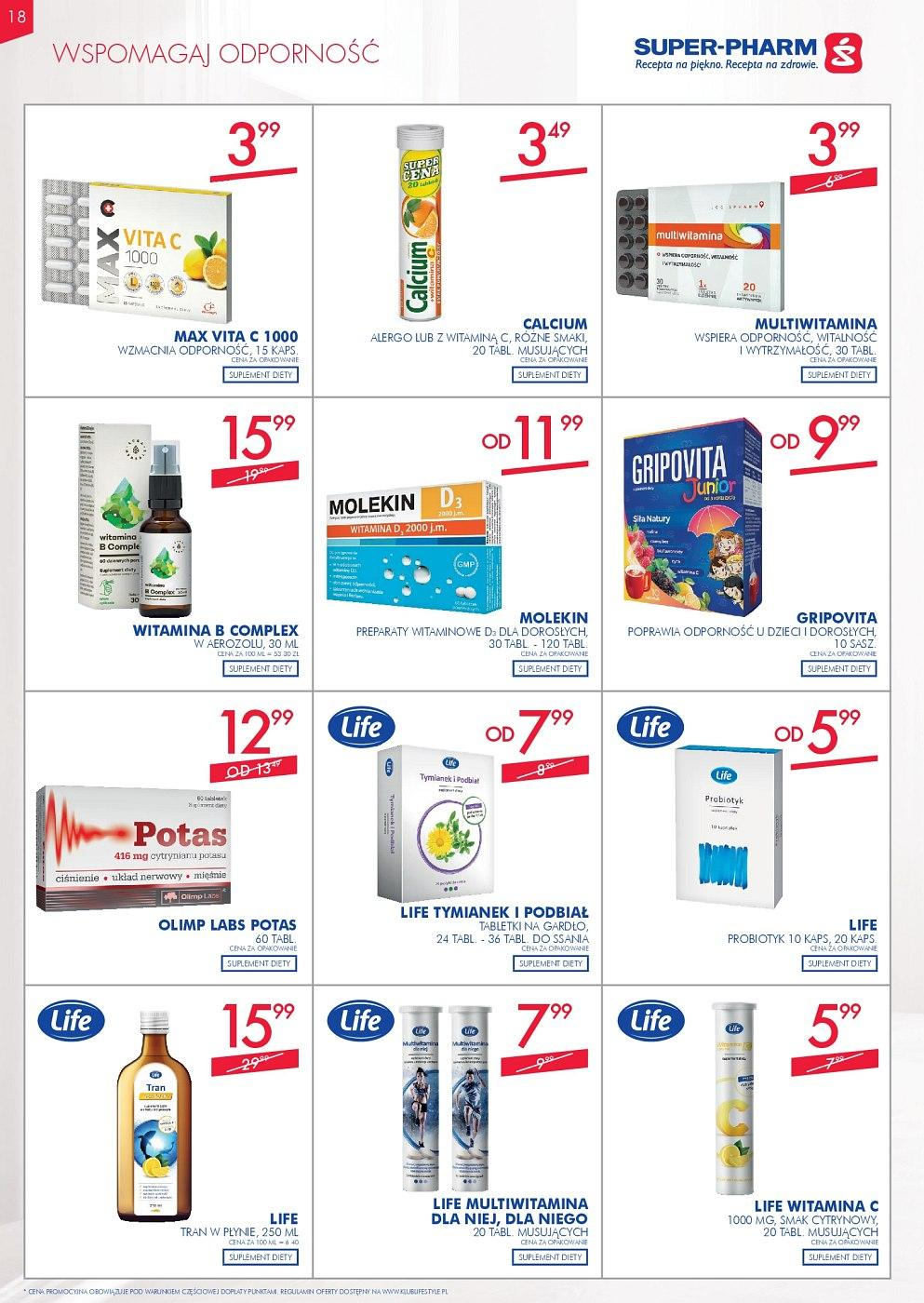 Gazetka promocyjna Superpharm do 12/09/2018 str.18