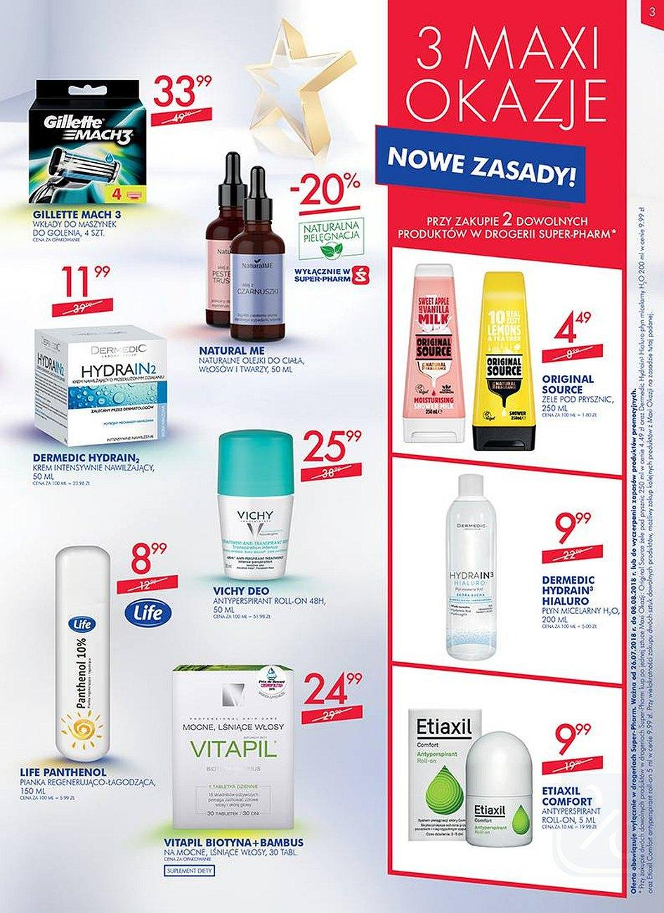 Gazetka promocyjna Superpharm do 08/08/2018 str.3