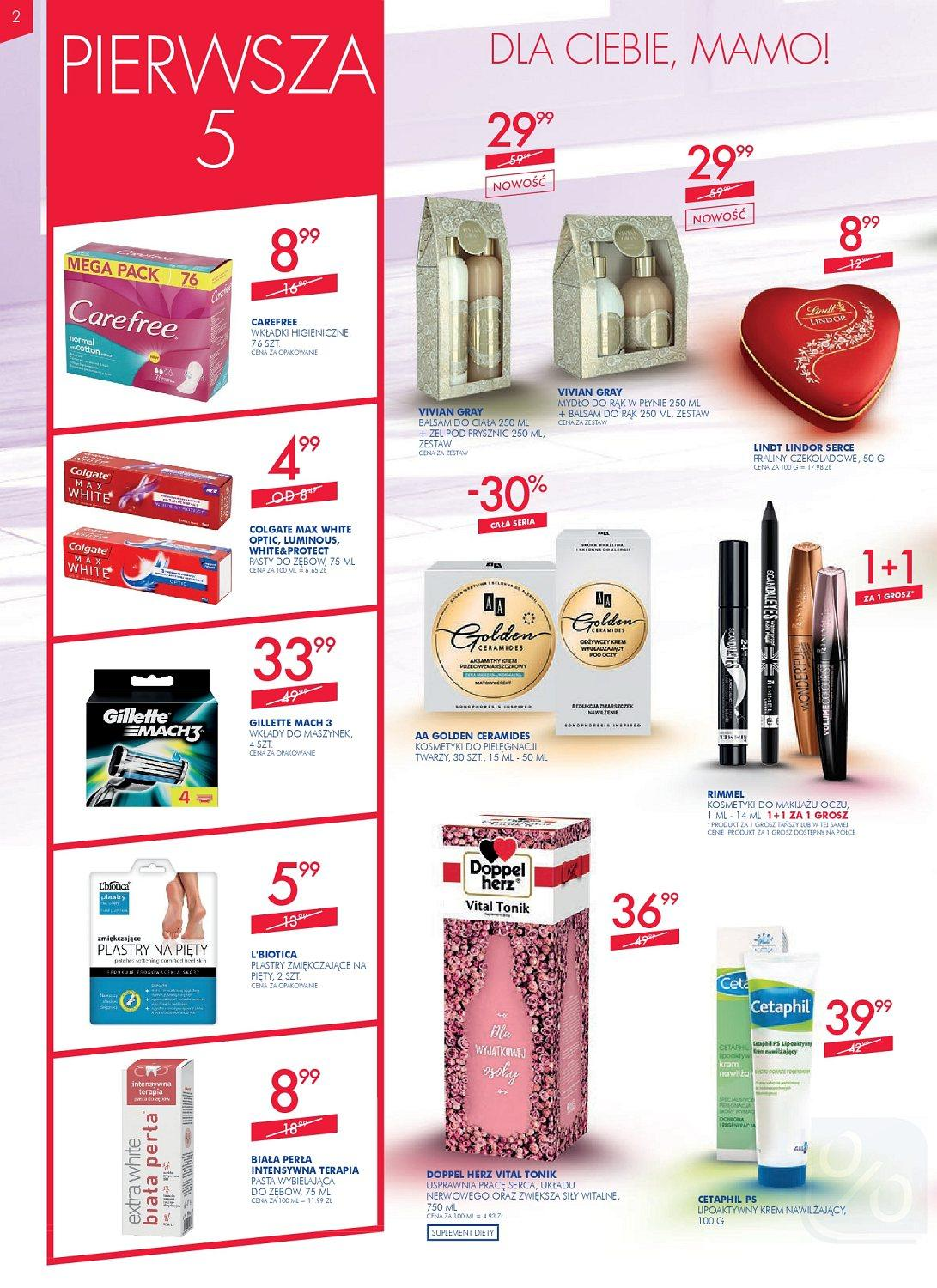 Gazetka promocyjna Superpharm do 30/05/2018 str.1