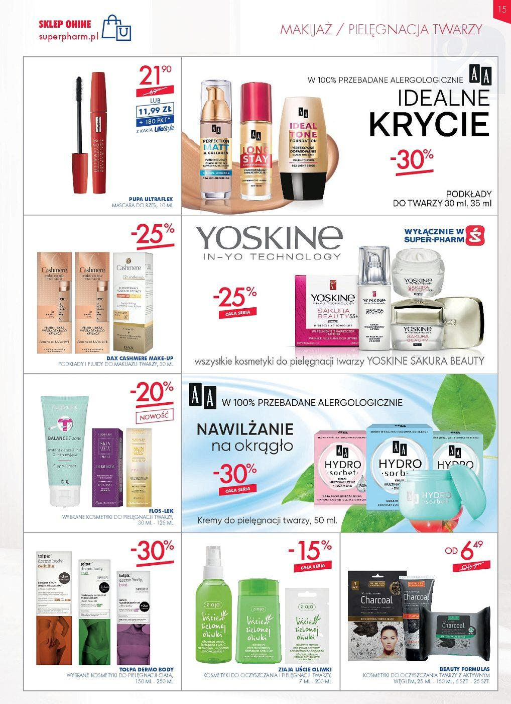 Gazetka promocyjna Superpharm do 13/06/2018 str.15