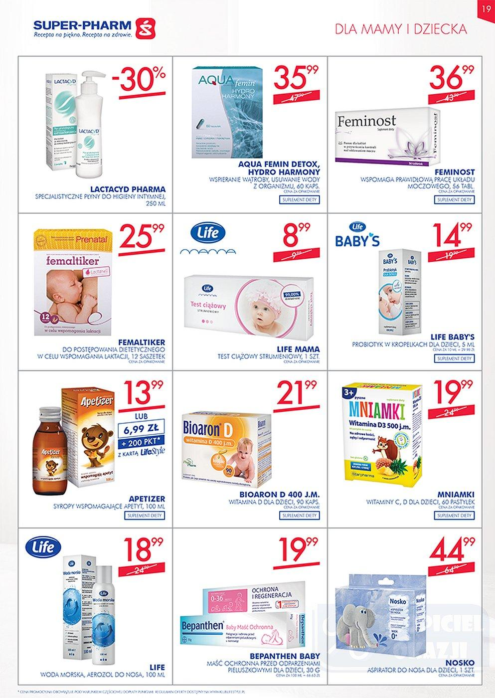 Gazetka promocyjna Superpharm do 10/10/2018 str.19