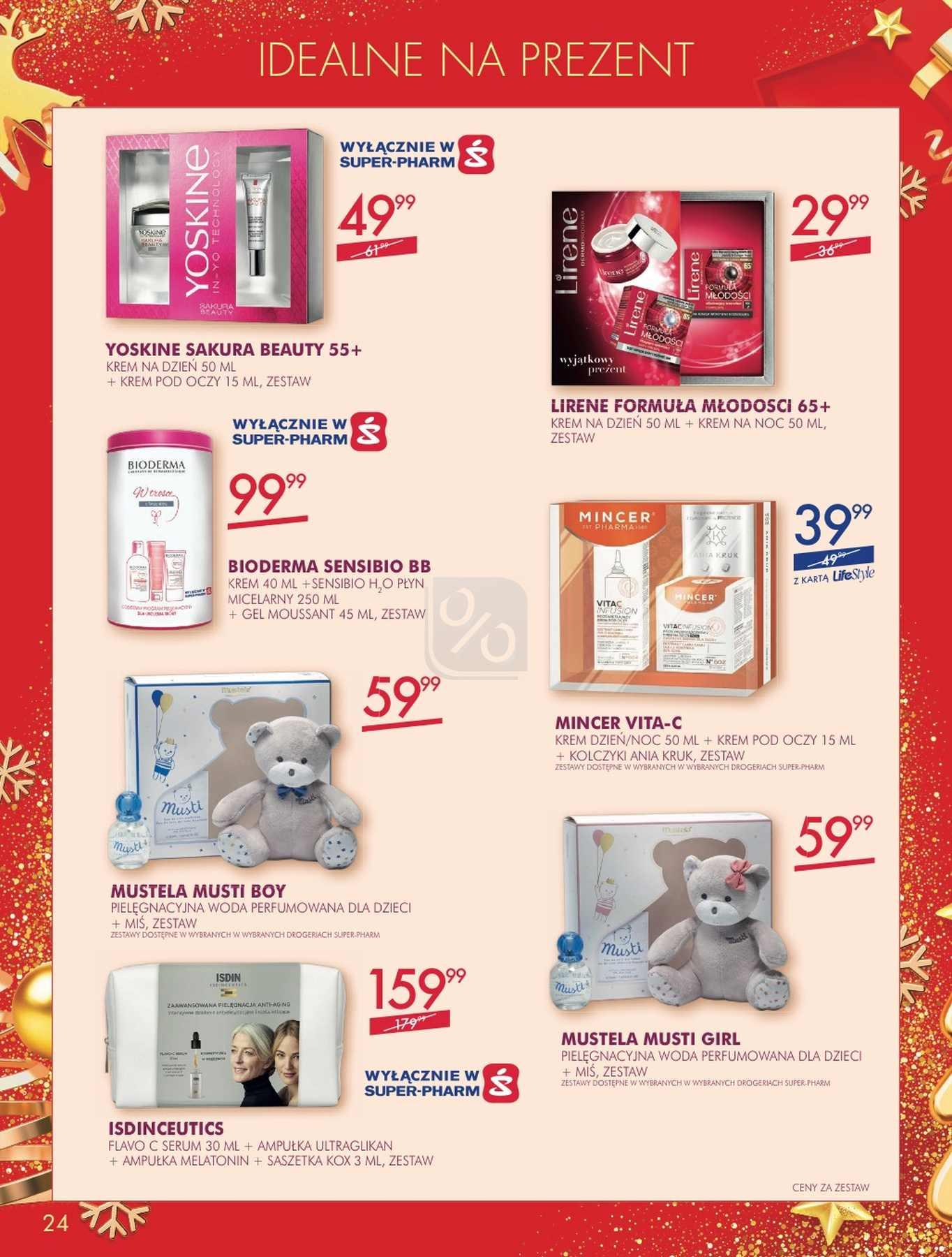 Gazetka promocyjna Superpharm do 24/12/2018 str.24