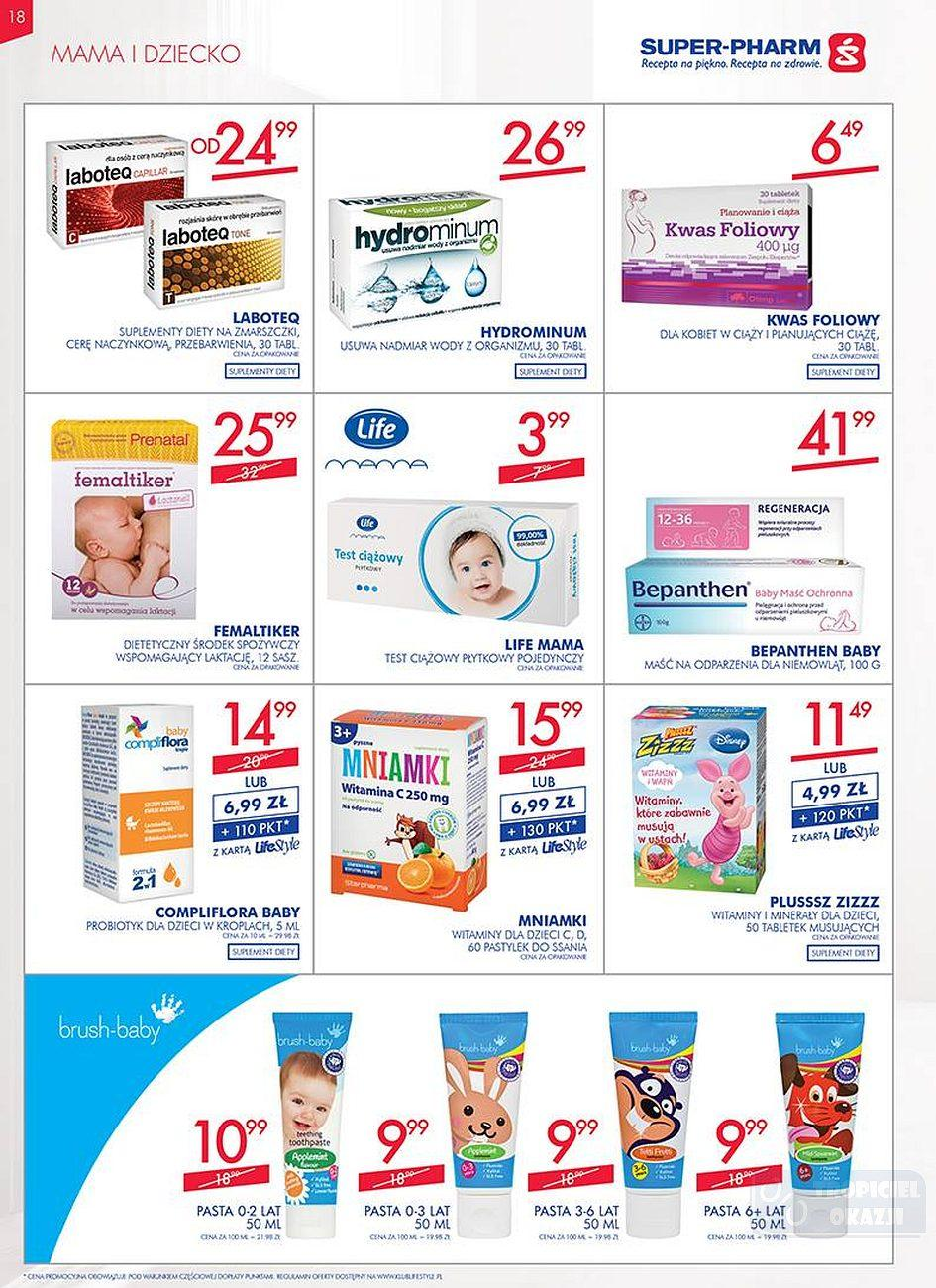 Gazetka promocyjna Superpharm do 25/07/2018 str.18