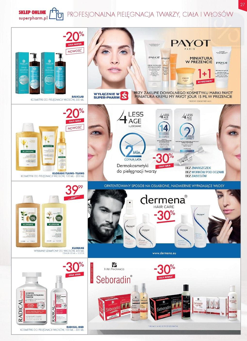 Gazetka promocyjna Superpharm do 27/06/2018 str.27
