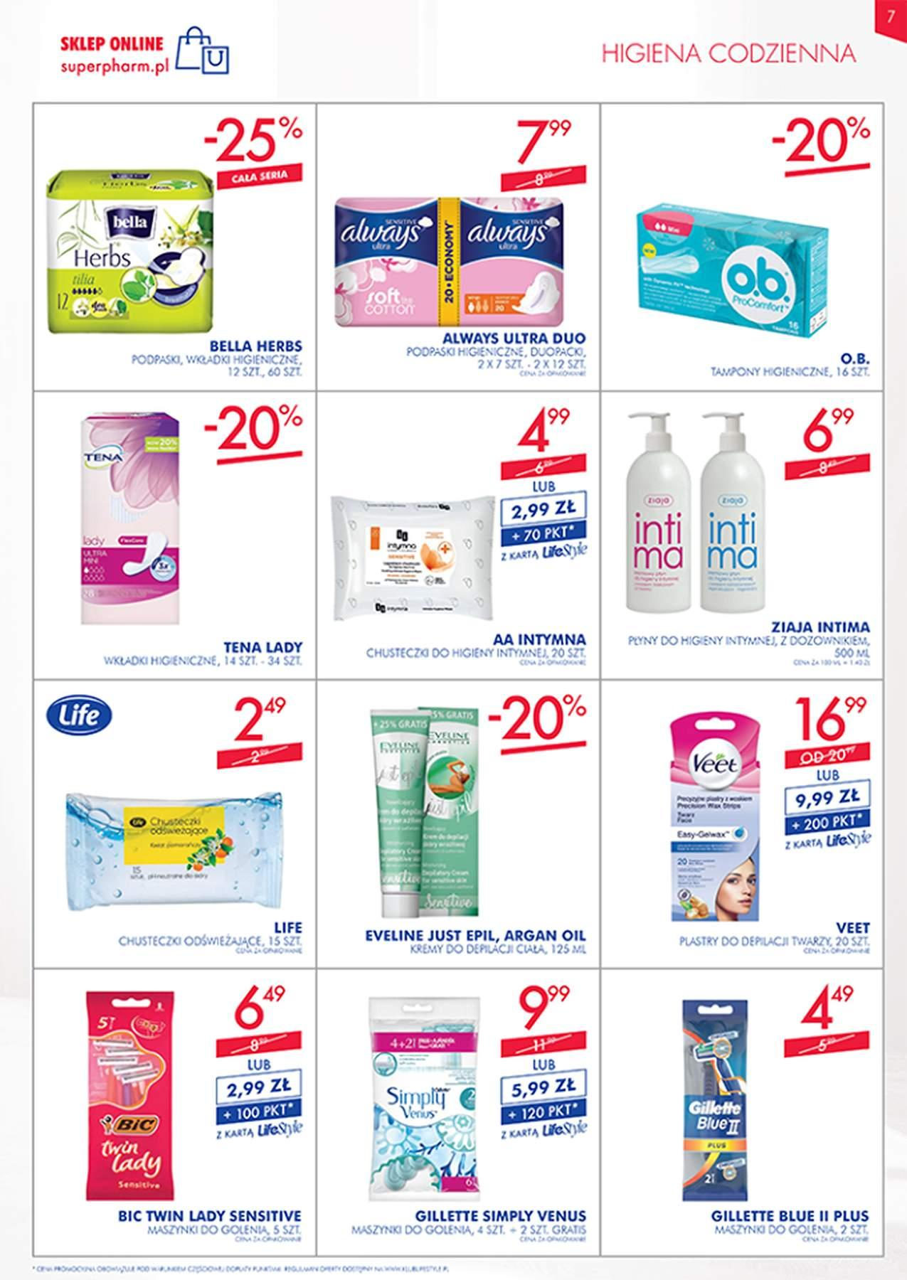 Gazetka promocyjna Superpharm do 06/02/2019 str.6