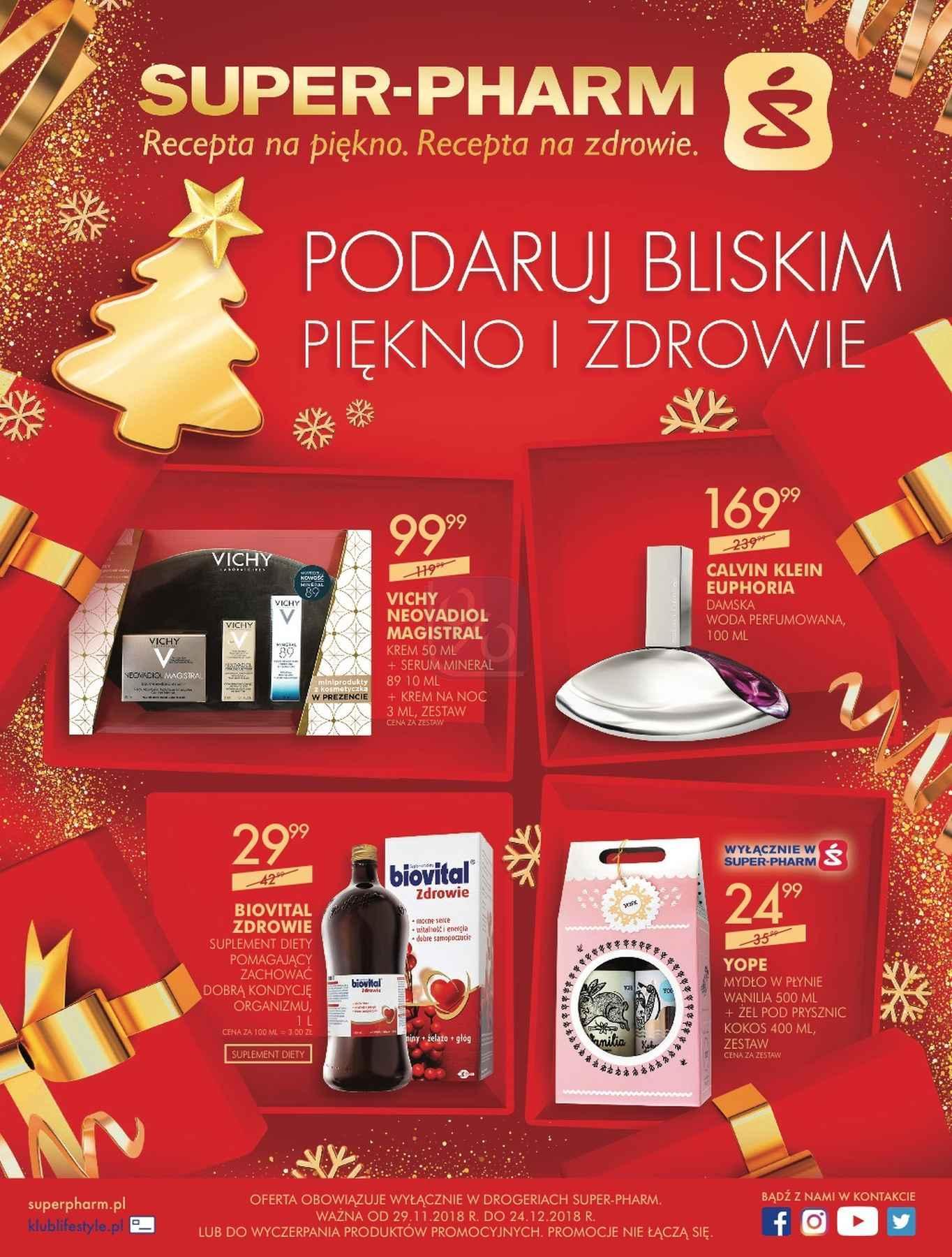 Gazetka promocyjna Superpharm do 24/12/2018 str.0