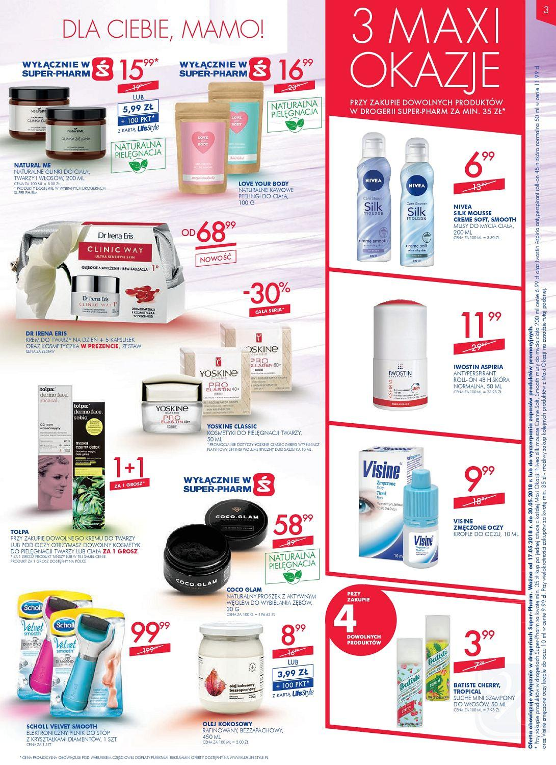 Gazetka promocyjna Superpharm do 30/05/2018 str.2