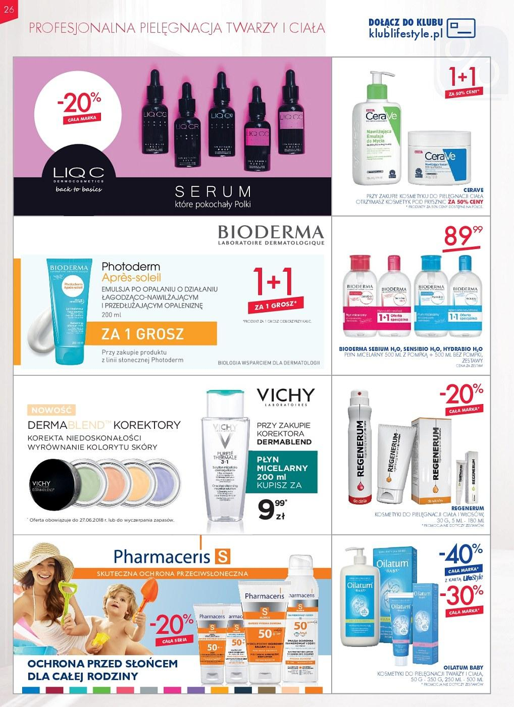 Gazetka promocyjna Superpharm do 27/06/2018 str.25