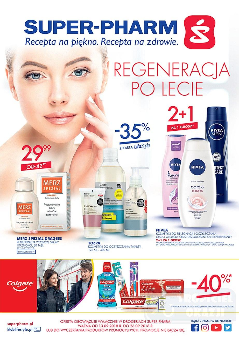 Gazetka promocyjna Superpharm do 26/09/2018 str.1