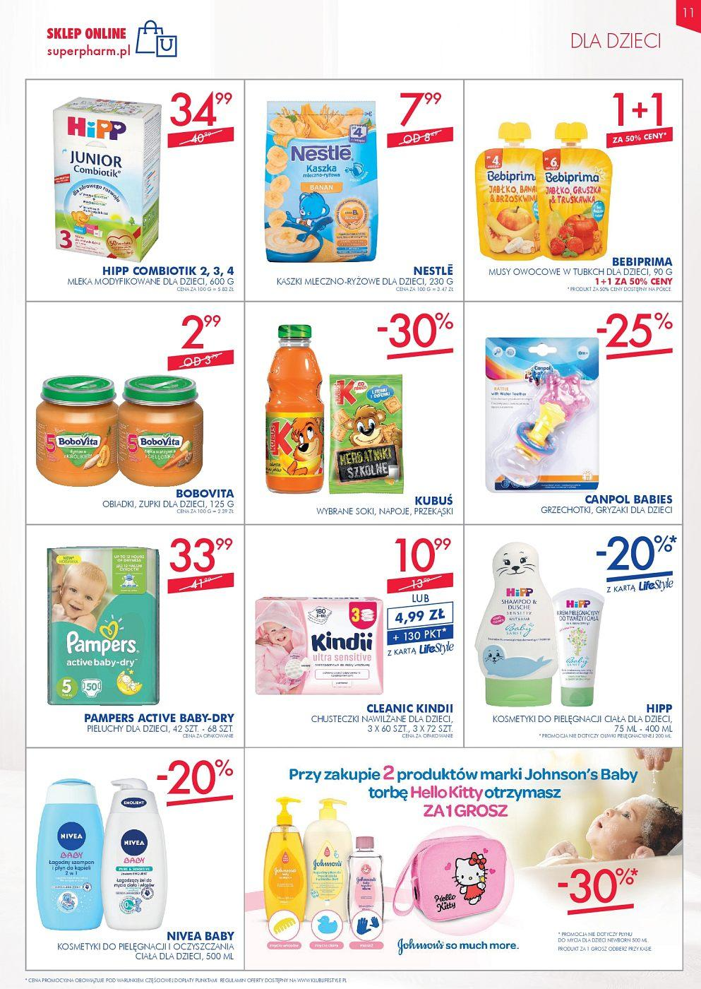 Gazetka promocyjna Superpharm do 12/09/2018 str.11