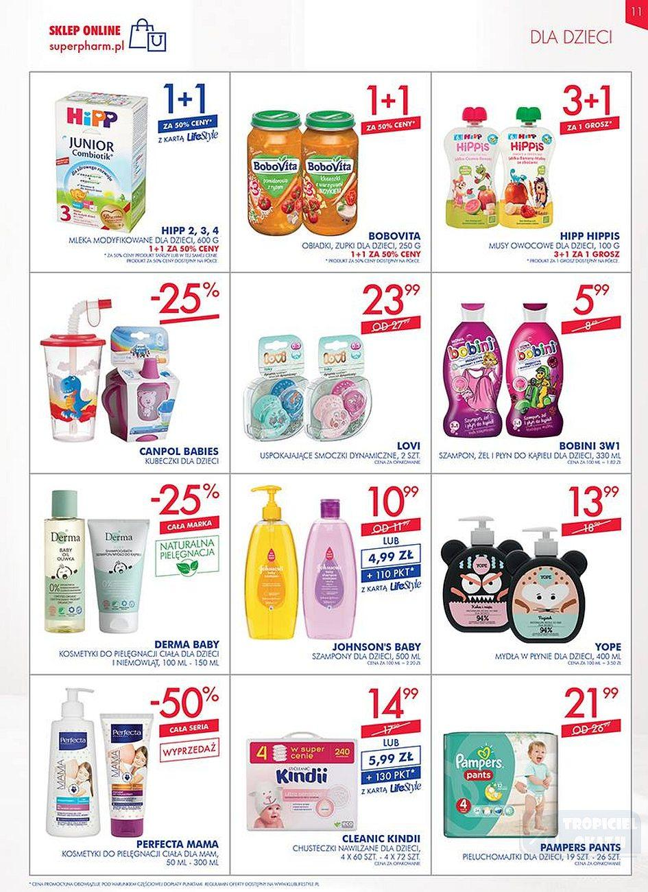 Gazetka promocyjna Superpharm do 25/07/2018 str.11