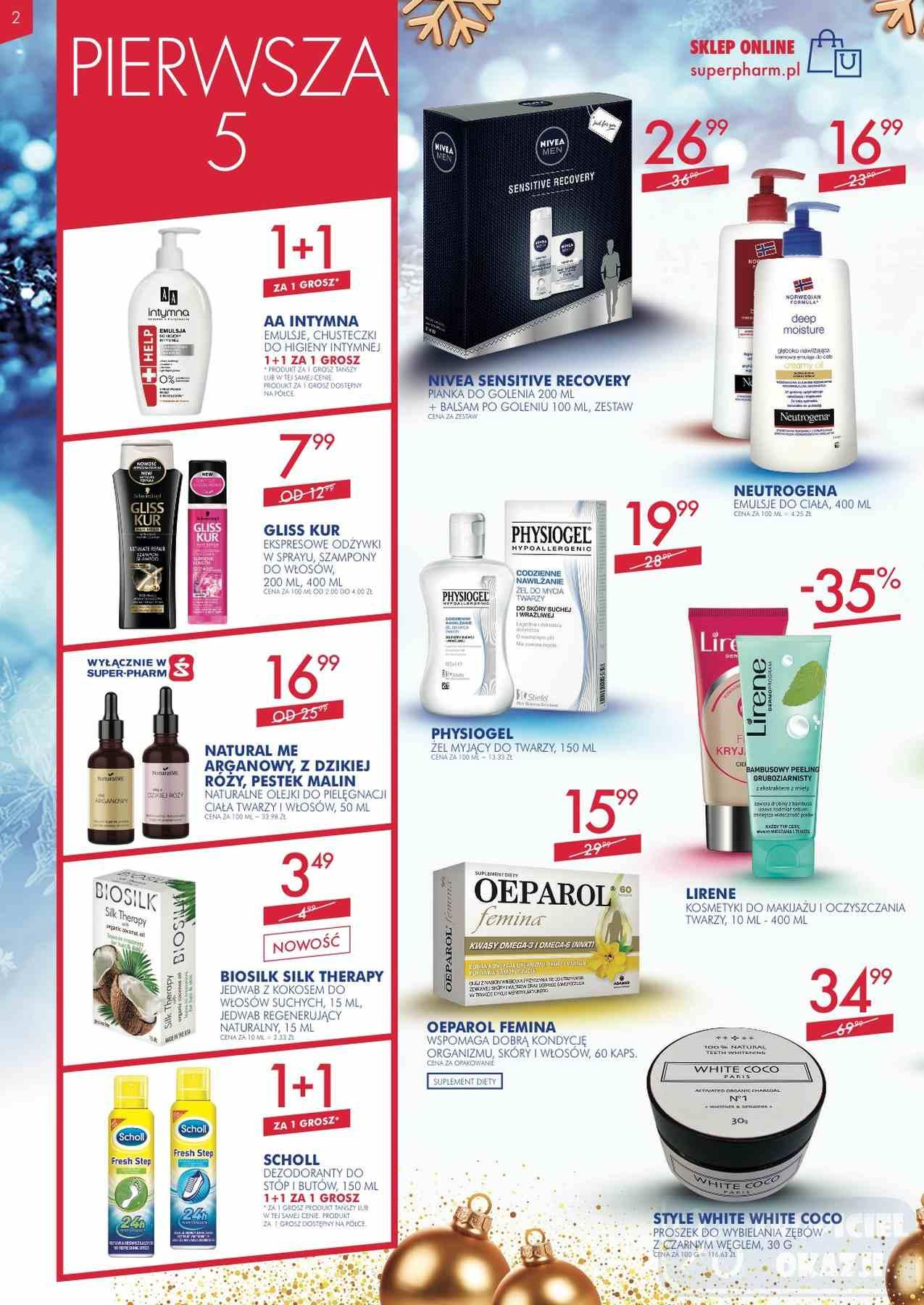 Gazetka promocyjna Superpharm do 12/12/2018 str.2