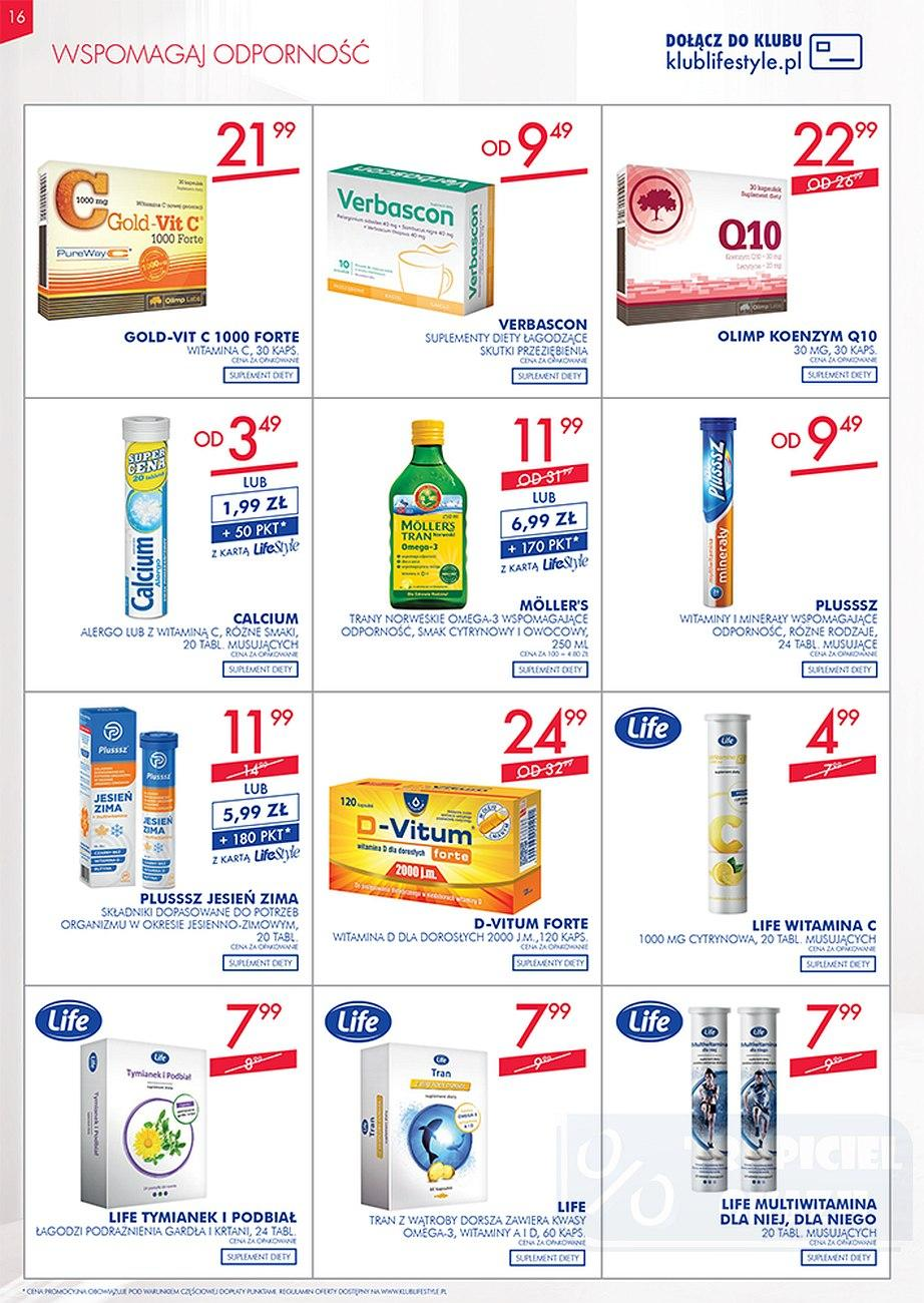 Gazetka promocyjna Superpharm do 26/09/2018 str.16