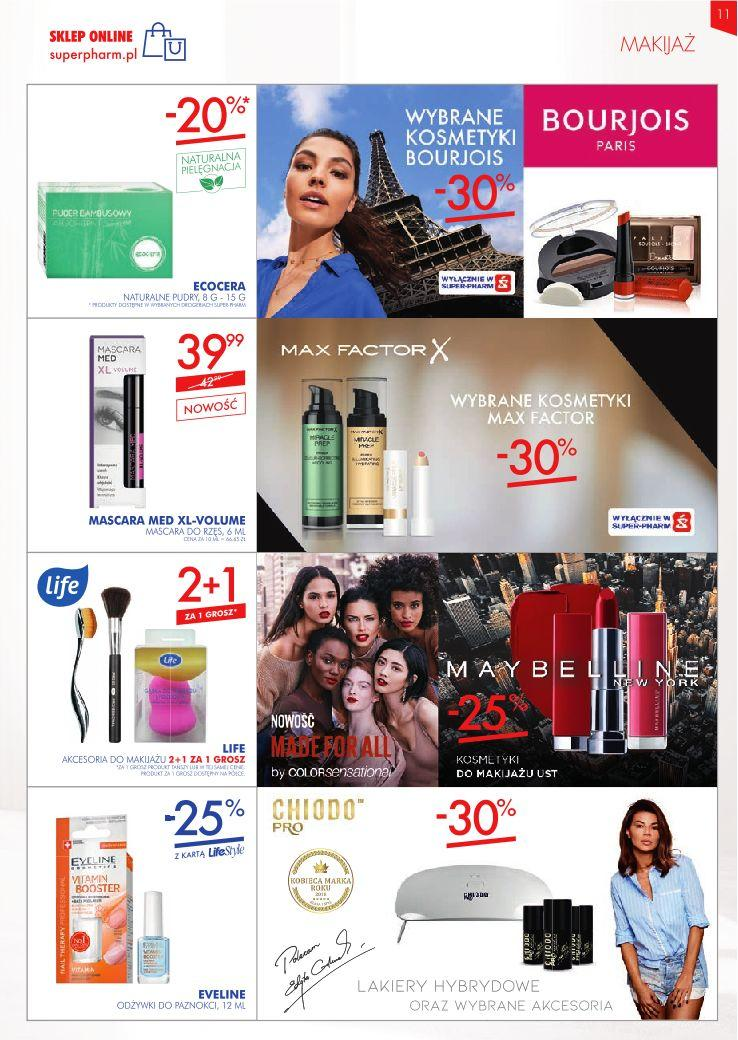 Gazetka promocyjna Superpharm do 24/04/2019 str.11