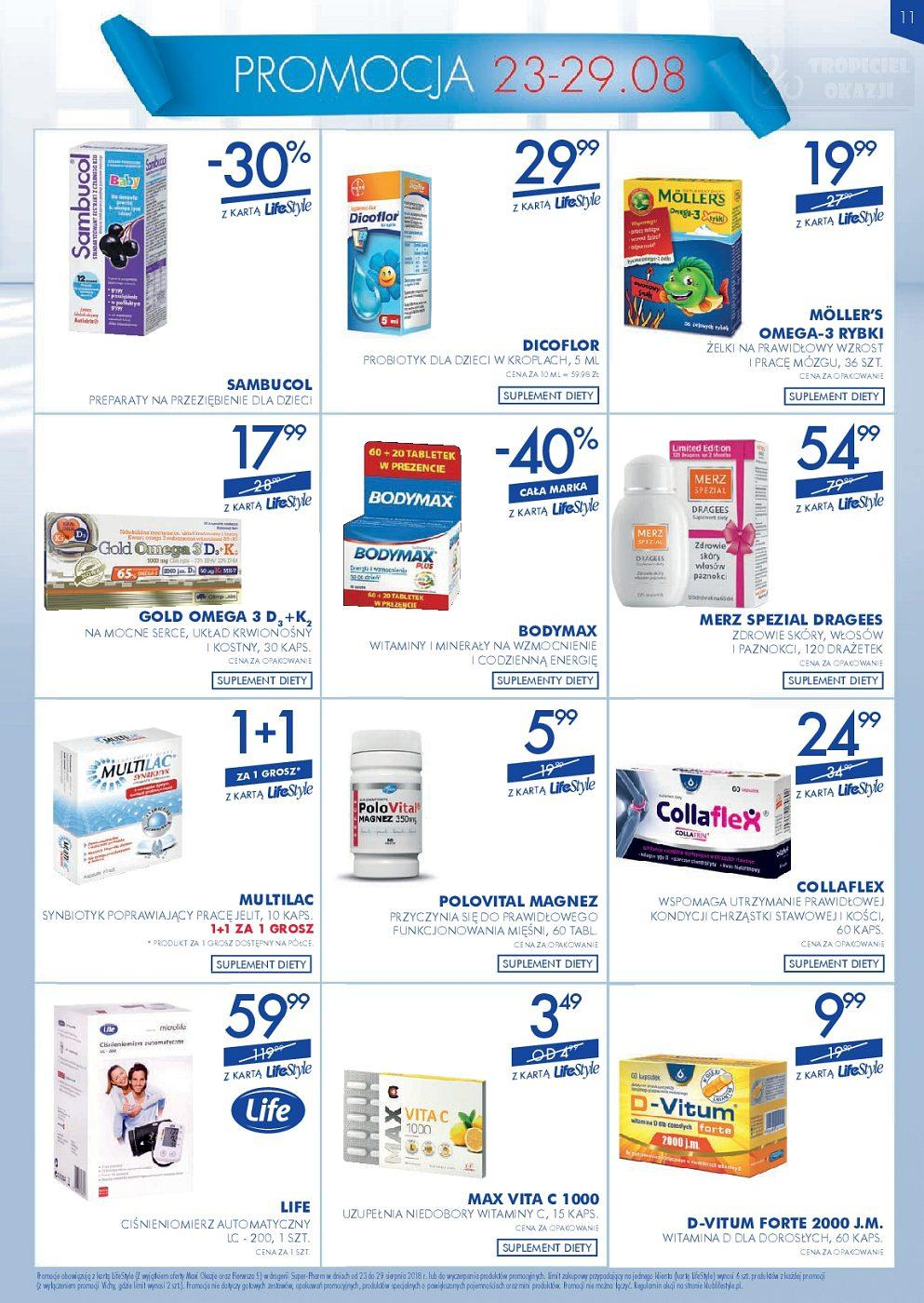 Gazetka promocyjna Superpharm do 29/08/2018 str.10