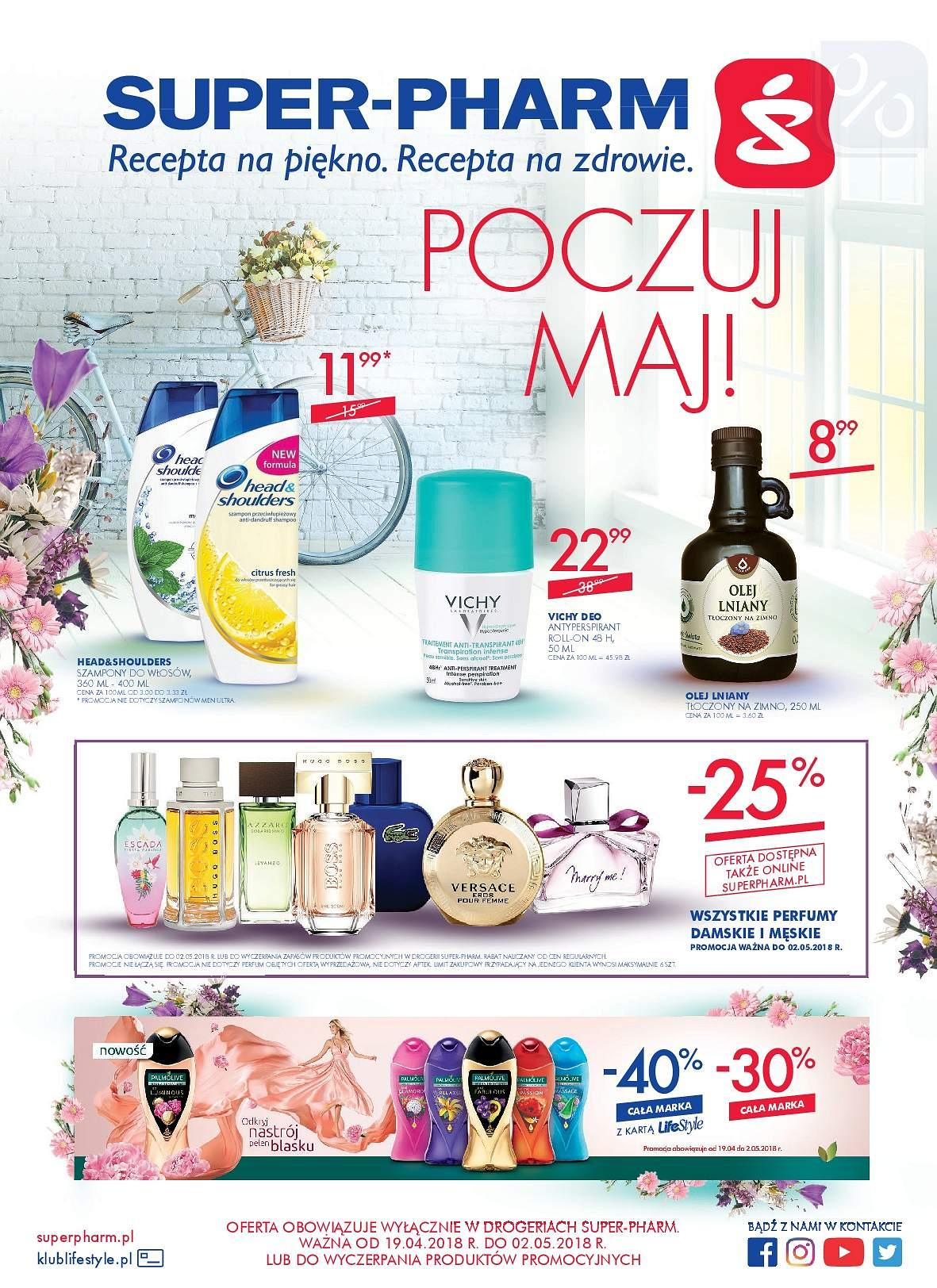 Gazetka promocyjna Superpharm do 02/05/2018 str.0