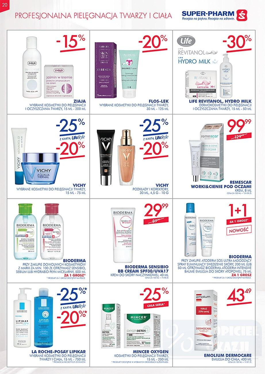 Gazetka promocyjna Superpharm do 26/09/2018 str.20