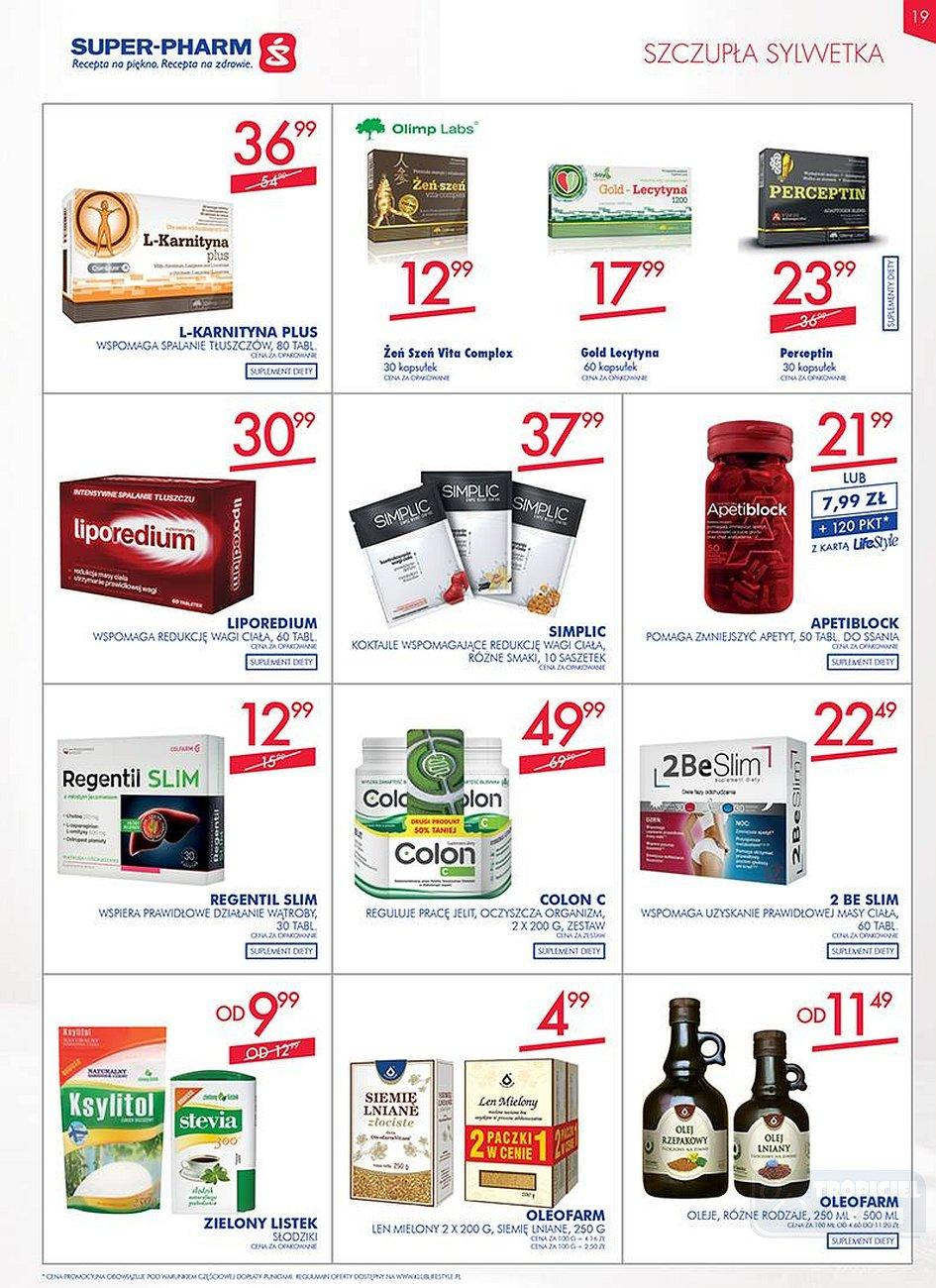Gazetka promocyjna Superpharm do 25/07/2018 str.19
