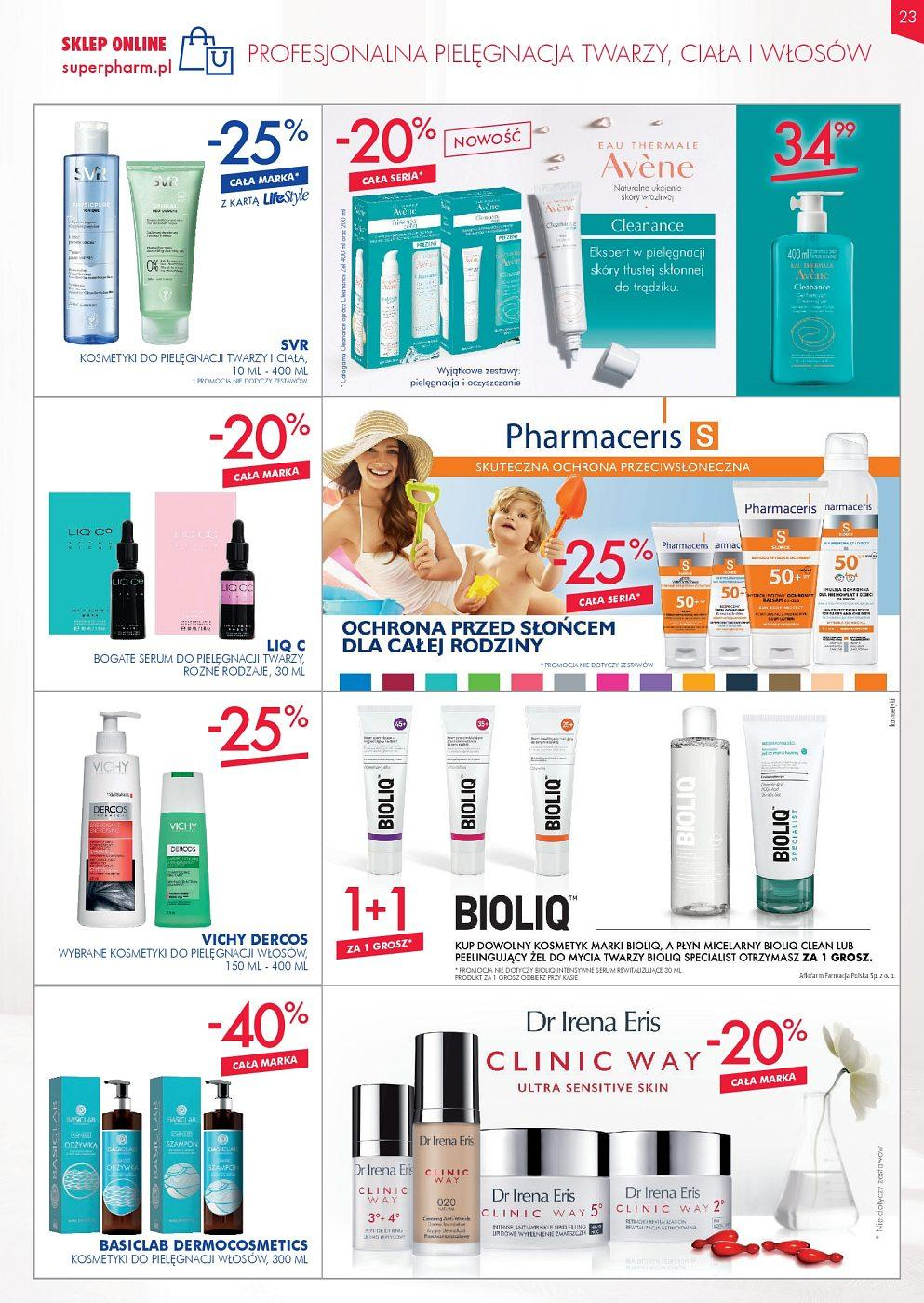 Gazetka promocyjna Superpharm do 12/09/2018 str.23