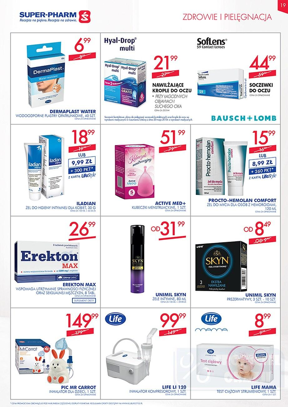Gazetka promocyjna Superpharm do 26/09/2018 str.19