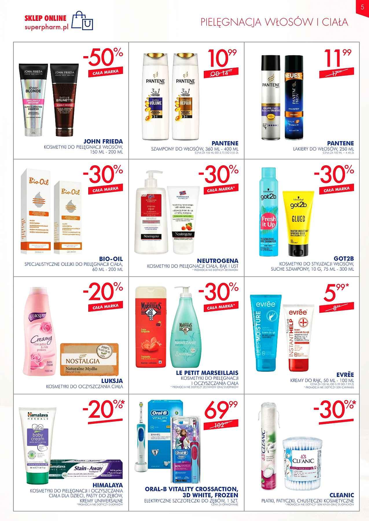 Gazetka promocyjna Superpharm do 02/01/2019 str.5