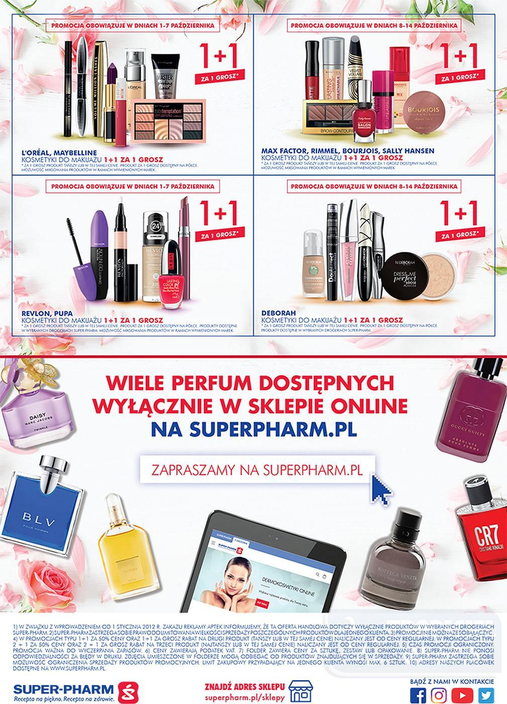 Gazetka promocyjna Superpharm do 10/10/2018 str.23