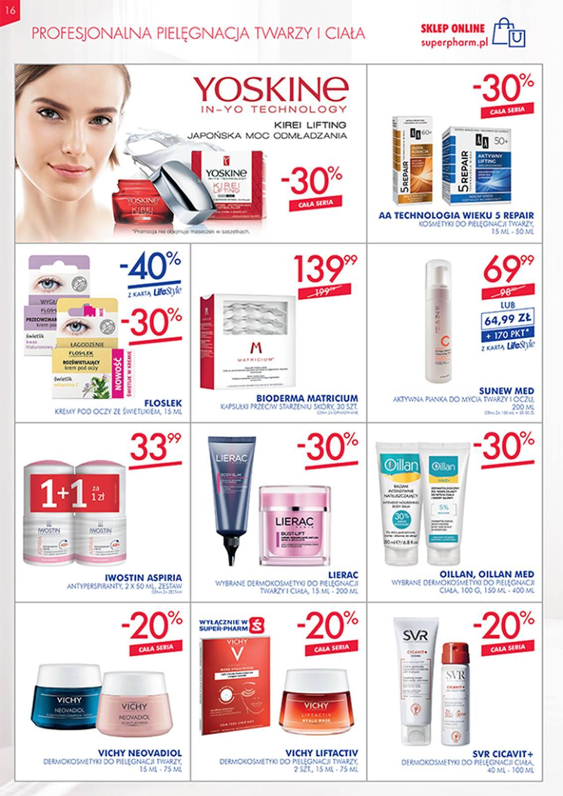 Gazetka promocyjna Superpharm do 08/05/2019 str.16