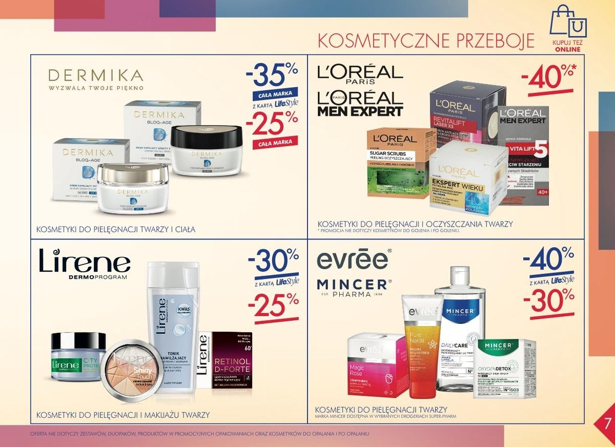 Gazetka promocyjna Superpharm do 25/10/2018 str.7