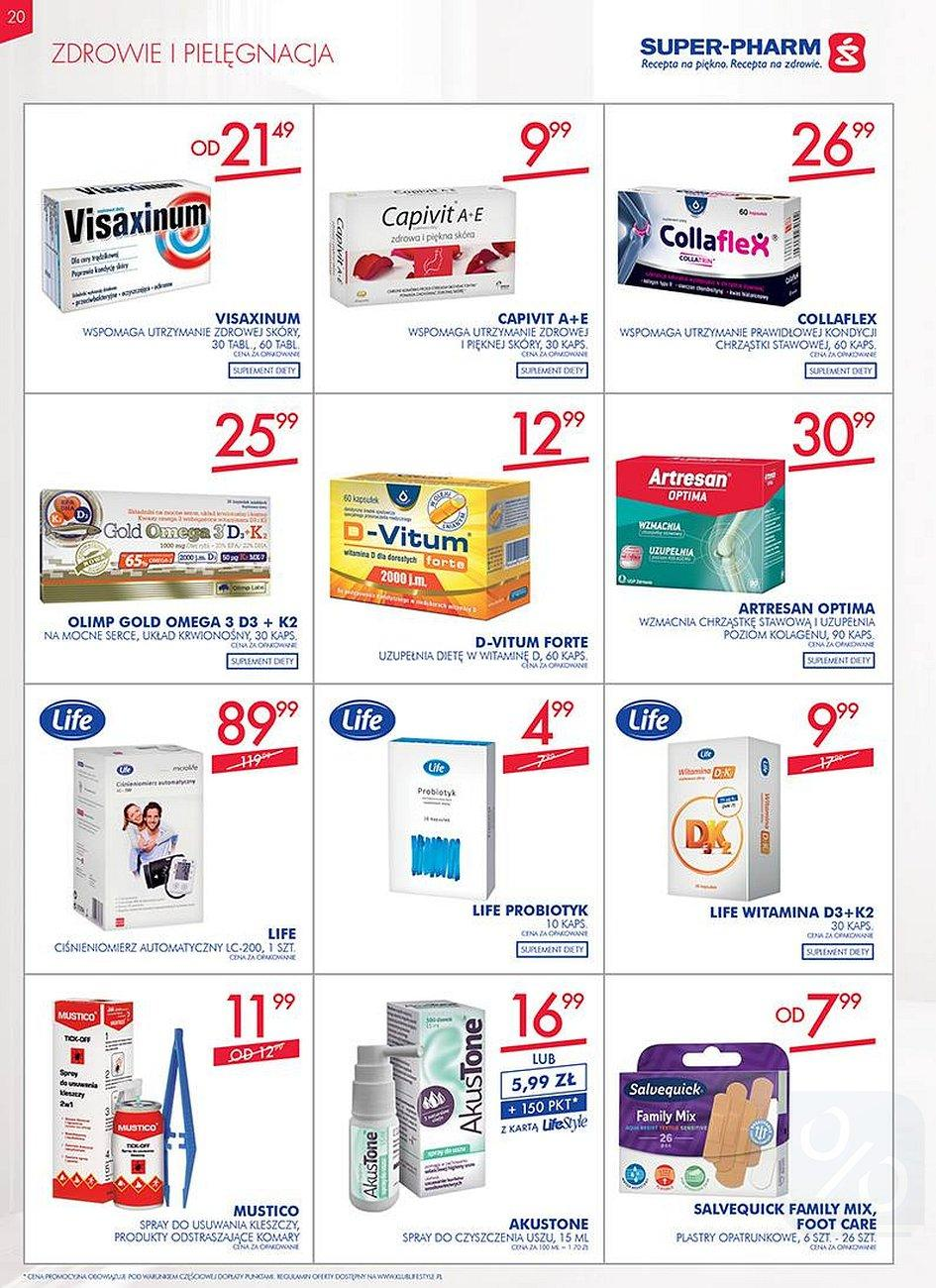 Gazetka promocyjna Superpharm do 08/08/2018 str.19