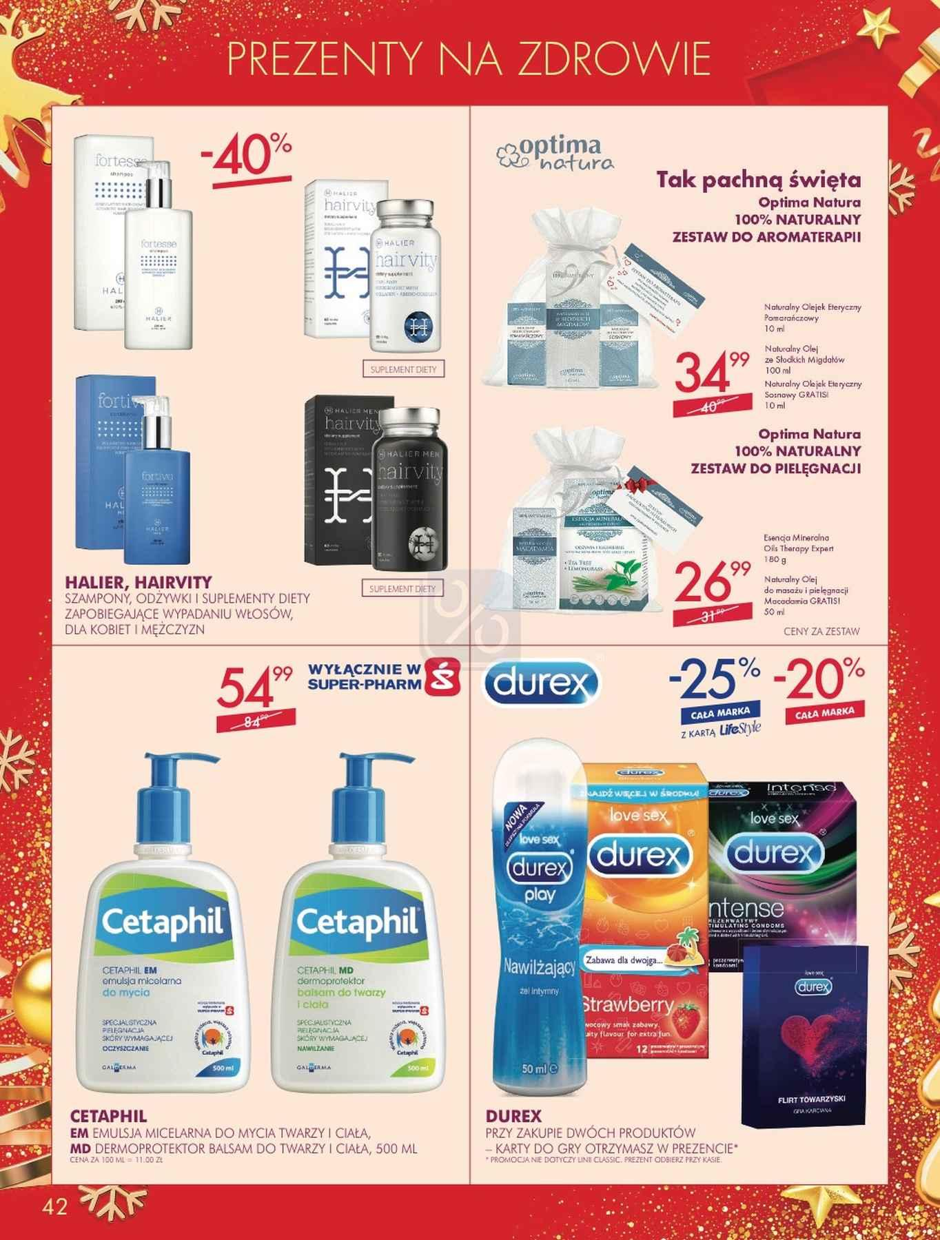 Gazetka promocyjna Superpharm do 24/12/2018 str.41