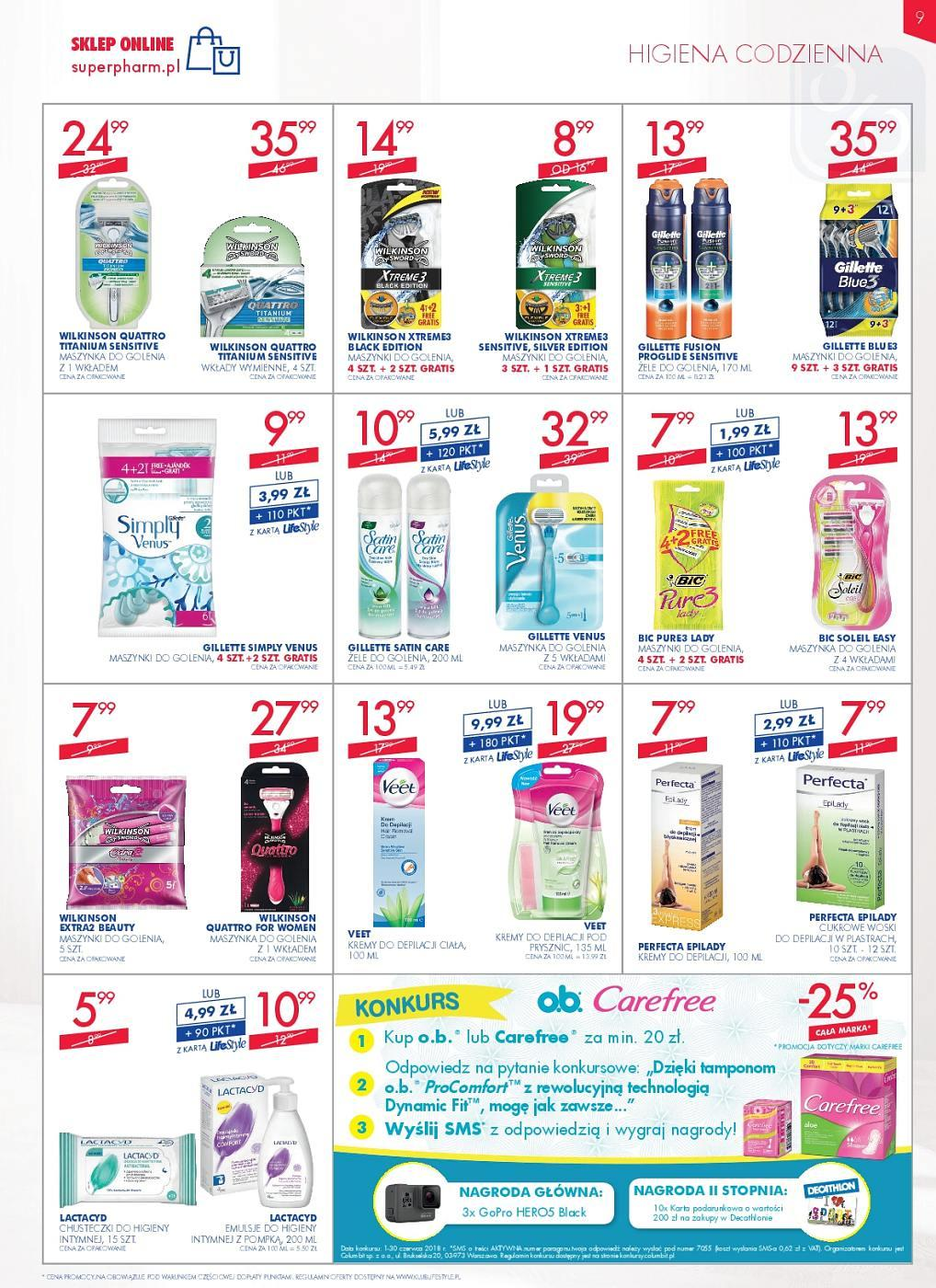 Gazetka promocyjna Superpharm do 13/06/2018 str.9