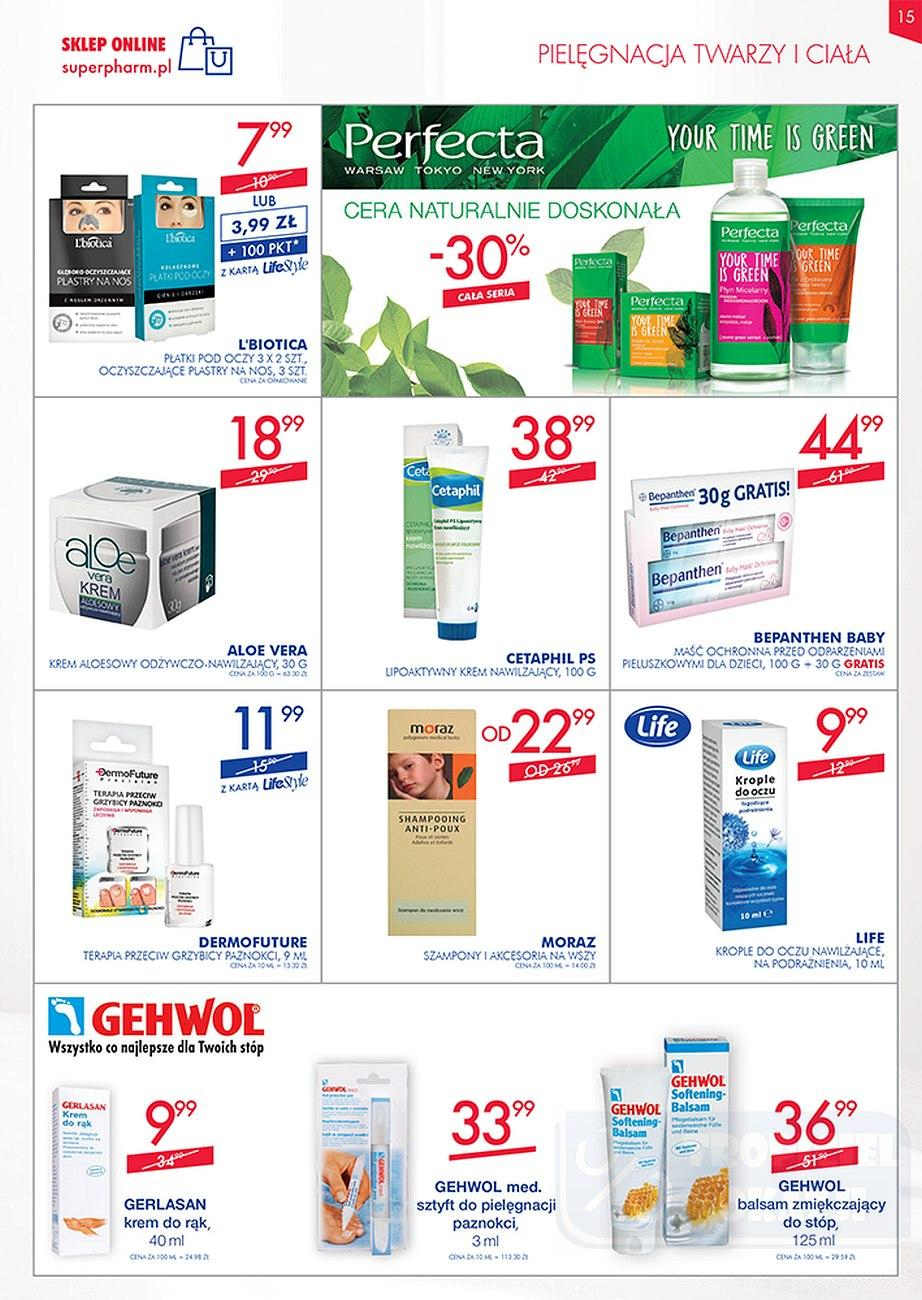 Gazetka promocyjna Superpharm do 26/09/2018 str.14